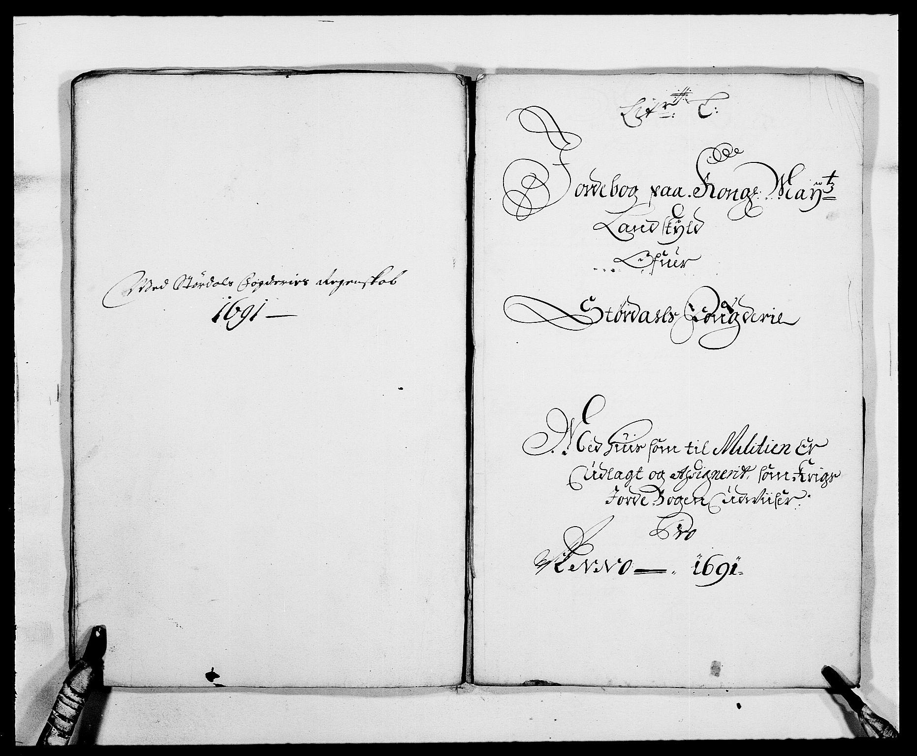 RA, Rentekammeret inntil 1814, Reviderte regnskaper, Fogderegnskap, R62/L4184: Fogderegnskap Stjørdal og Verdal, 1690-1691, s. 388
