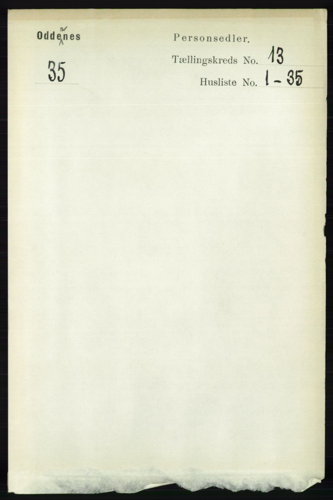 RA, Folketelling 1891 for 1012 Oddernes herred, 1891, s. 4638