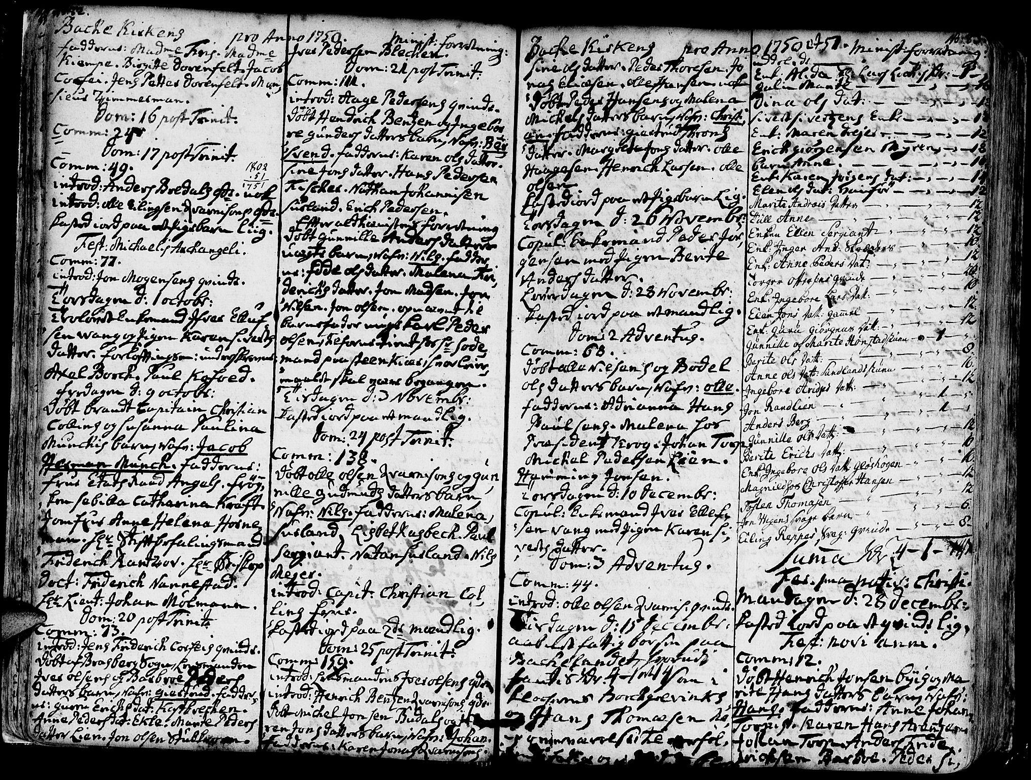 SAT, Ministerialprotokoller, klokkerbøker og fødselsregistre - Sør-Trøndelag, 606/L0276: Ministerialbok nr. 606A01 /2, 1727-1779, s. 82-83