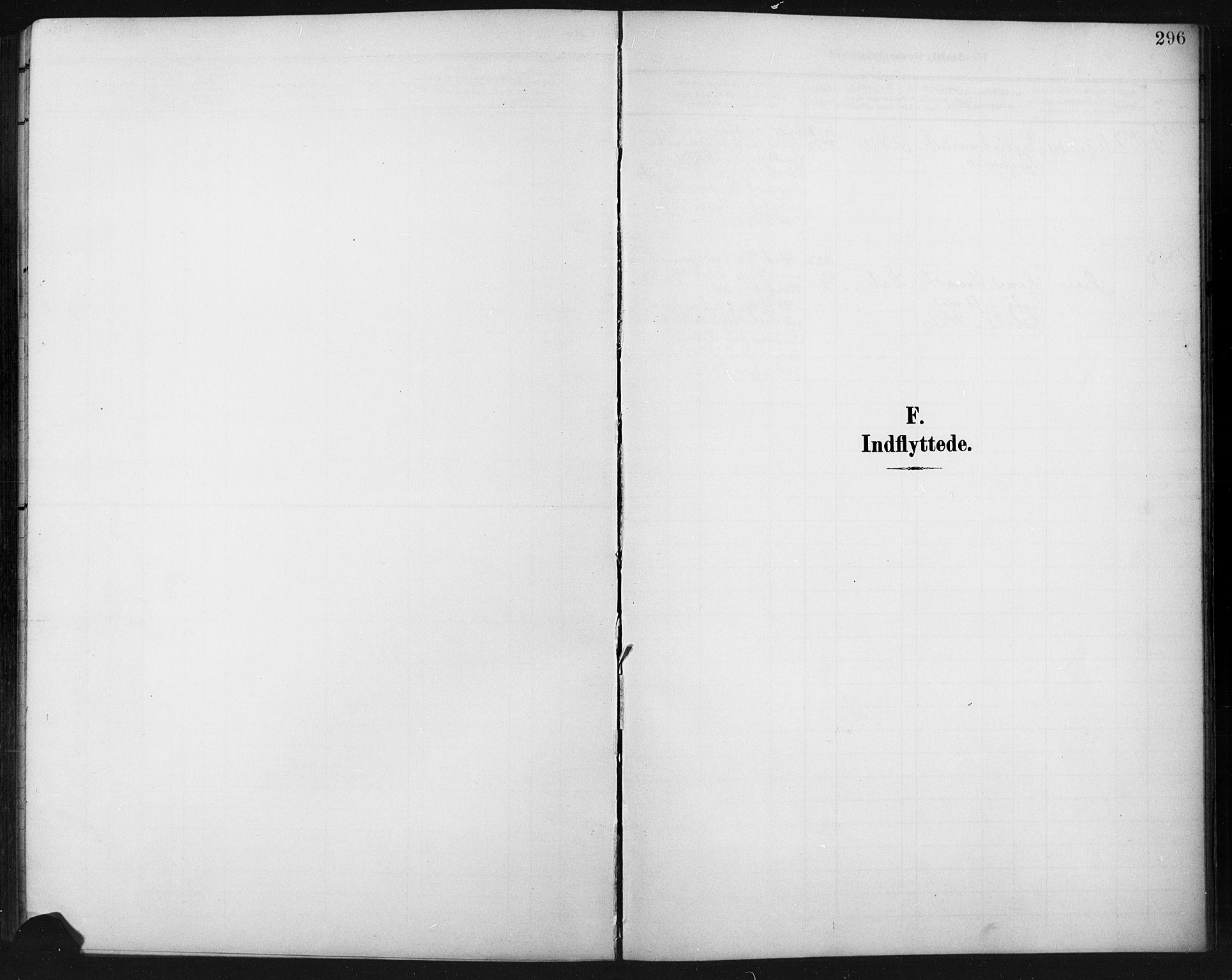 SAH, Fåberg prestekontor, Klokkerbok nr. 11, 1901-1921, s. 296