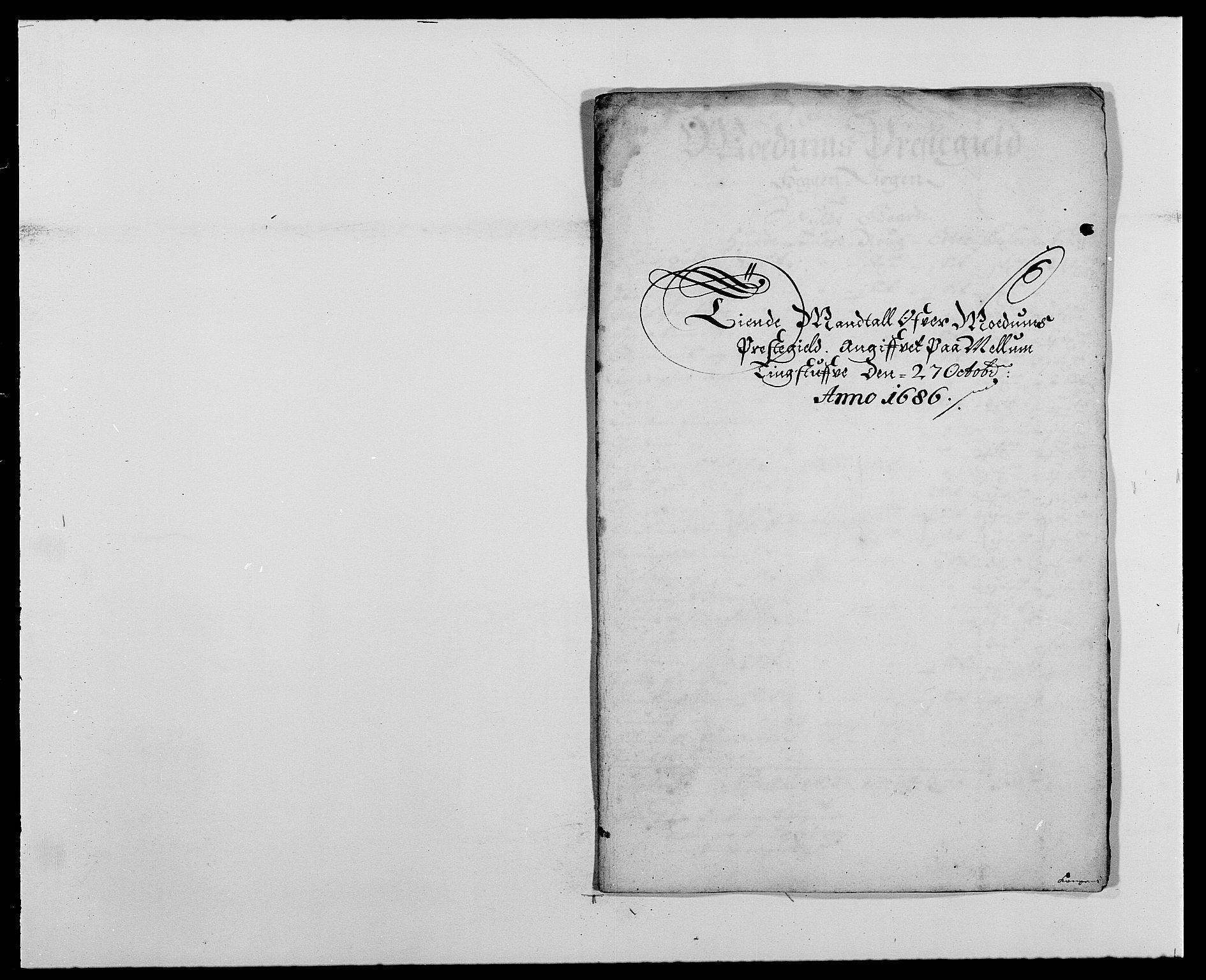 RA, Rentekammeret inntil 1814, Reviderte regnskaper, Fogderegnskap, R25/L1678: Fogderegnskap Buskerud, 1685-1686, s. 383
