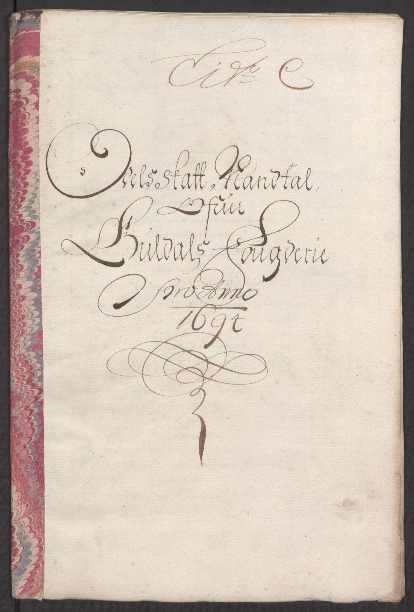 RA, Rentekammeret inntil 1814, Reviderte regnskaper, Fogderegnskap, R60/L3944: Fogderegnskap Orkdal og Gauldal, 1694, s. 331