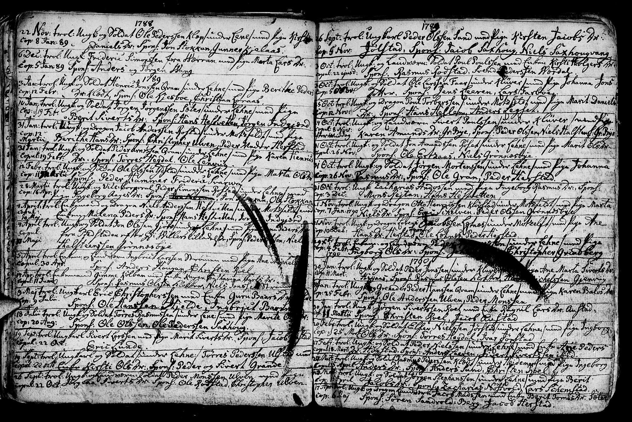 SAT, Ministerialprotokoller, klokkerbøker og fødselsregistre - Nord-Trøndelag, 730/L0273: Ministerialbok nr. 730A02, 1762-1802, s. 22