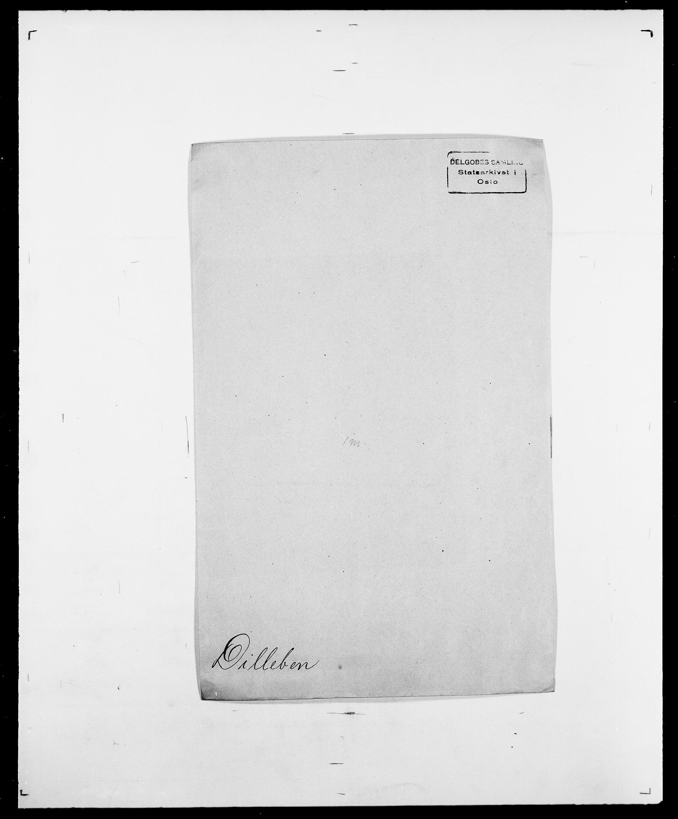 SAO, Delgobe, Charles Antoine - samling, D/Da/L0009: Dahl - v. Düren, s. 570