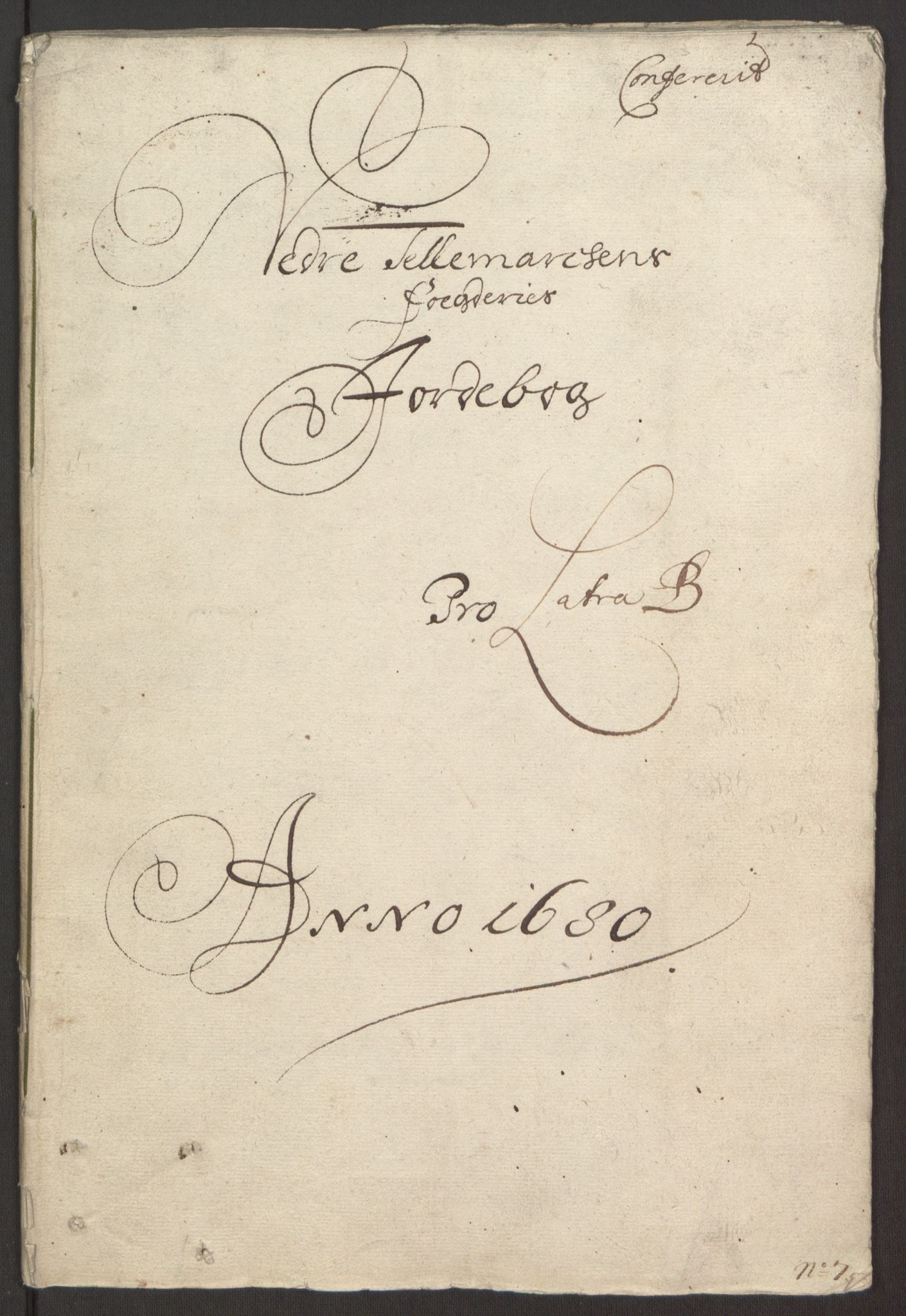 RA, Rentekammeret inntil 1814, Reviderte regnskaper, Fogderegnskap, R35/L2075: Fogderegnskap Øvre og Nedre Telemark, 1680-1684, s. 64