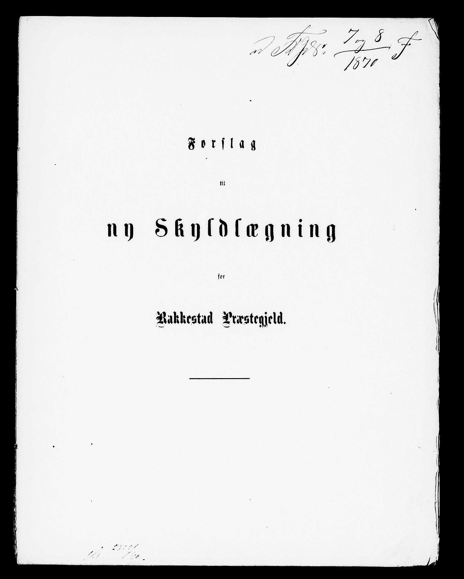 RA, Matrikkelrevisjonen av 1863, F/Fe/L0005: Rakkestad, 1863