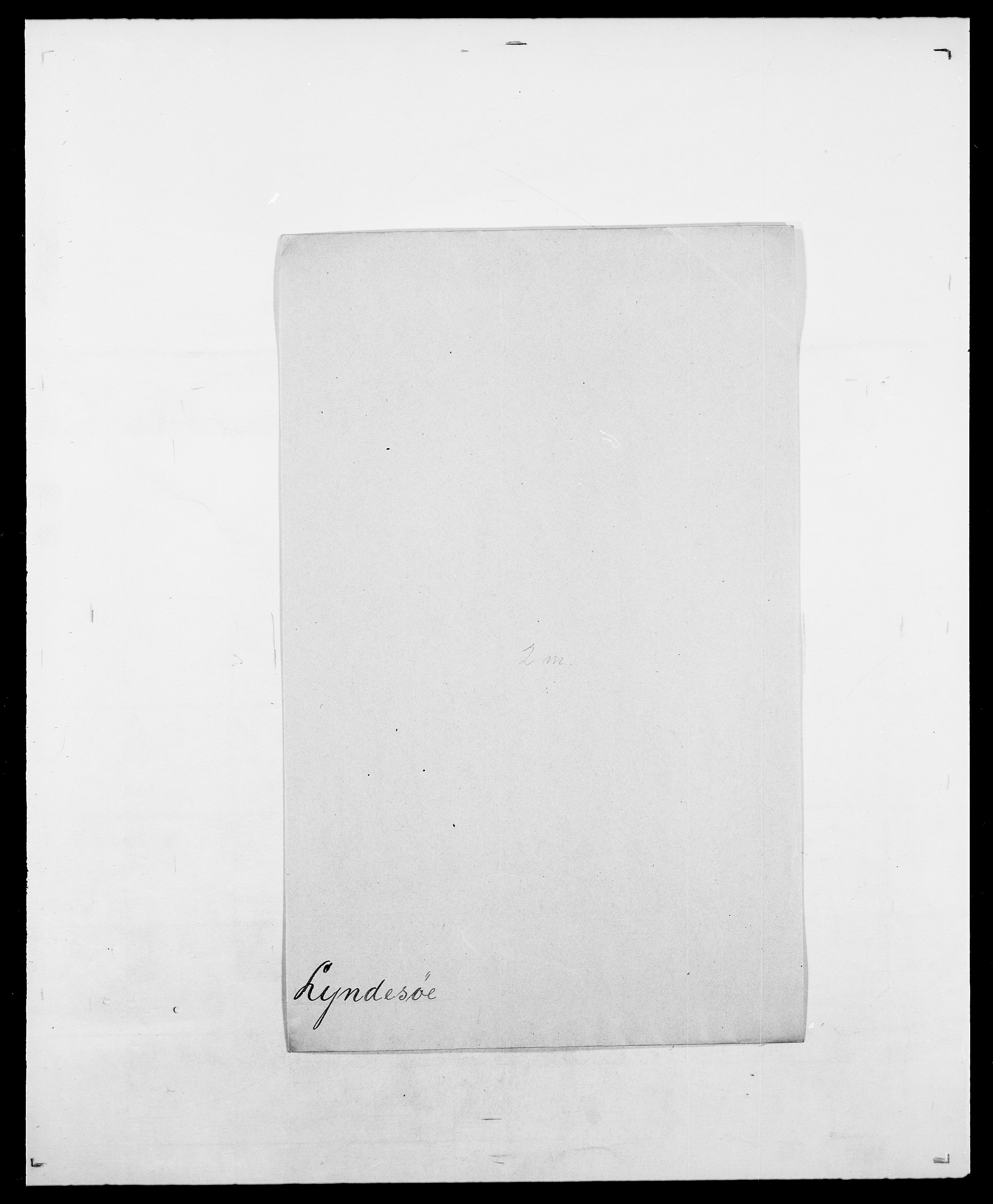 SAO, Delgobe, Charles Antoine - samling, D/Da/L0024: Lobech - Lærum, s. 716