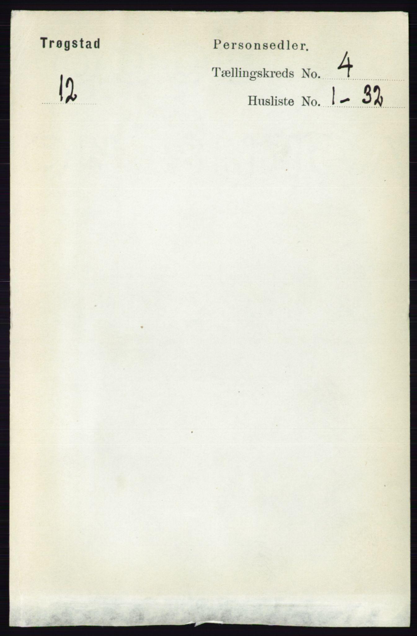RA, Folketelling 1891 for 0122 Trøgstad herred, 1891, s. 1578