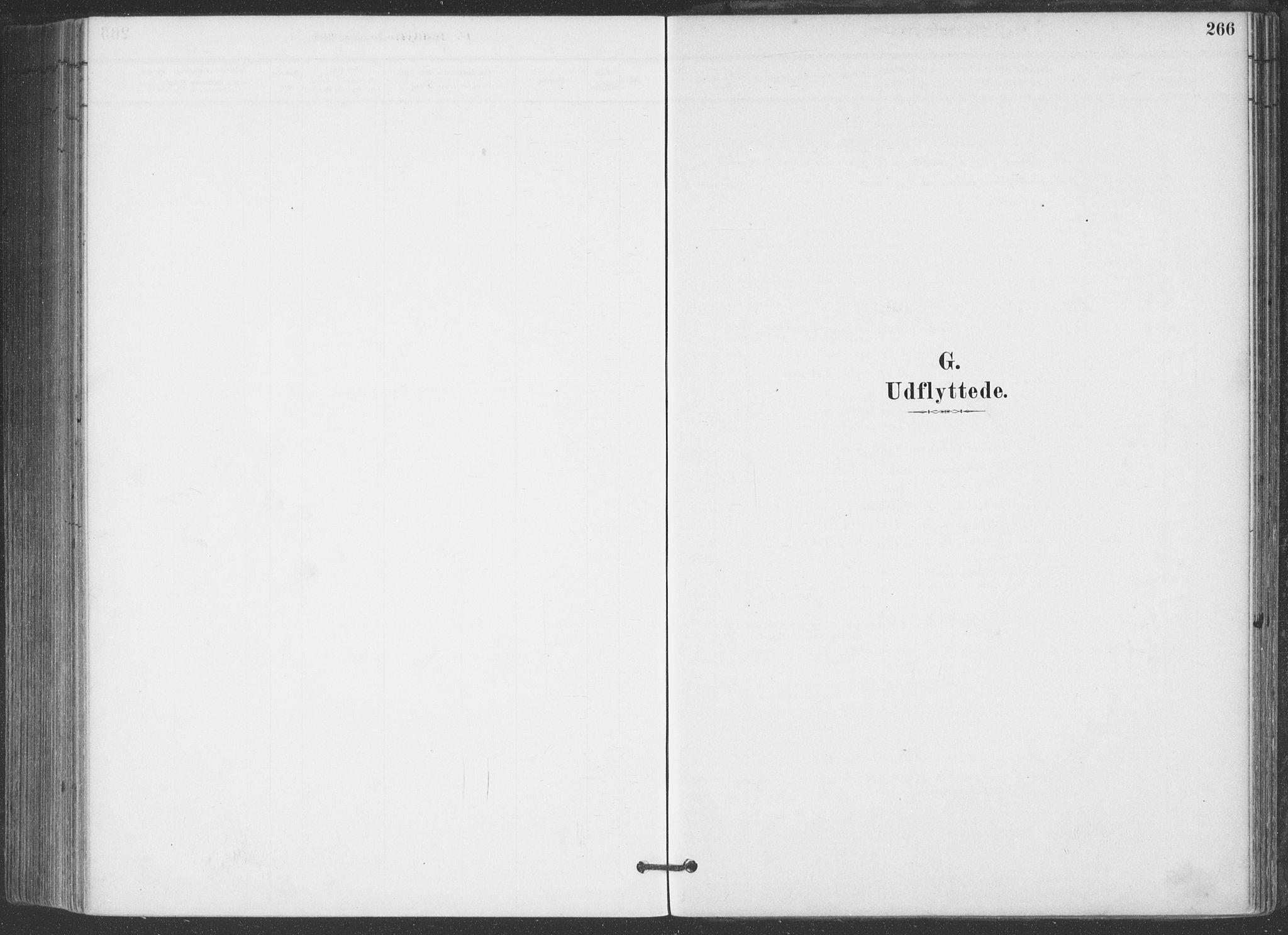 SAKO, Hjartdal kirkebøker, F/Fa/L0010: Ministerialbok nr. I 10, 1880-1929, s. 266