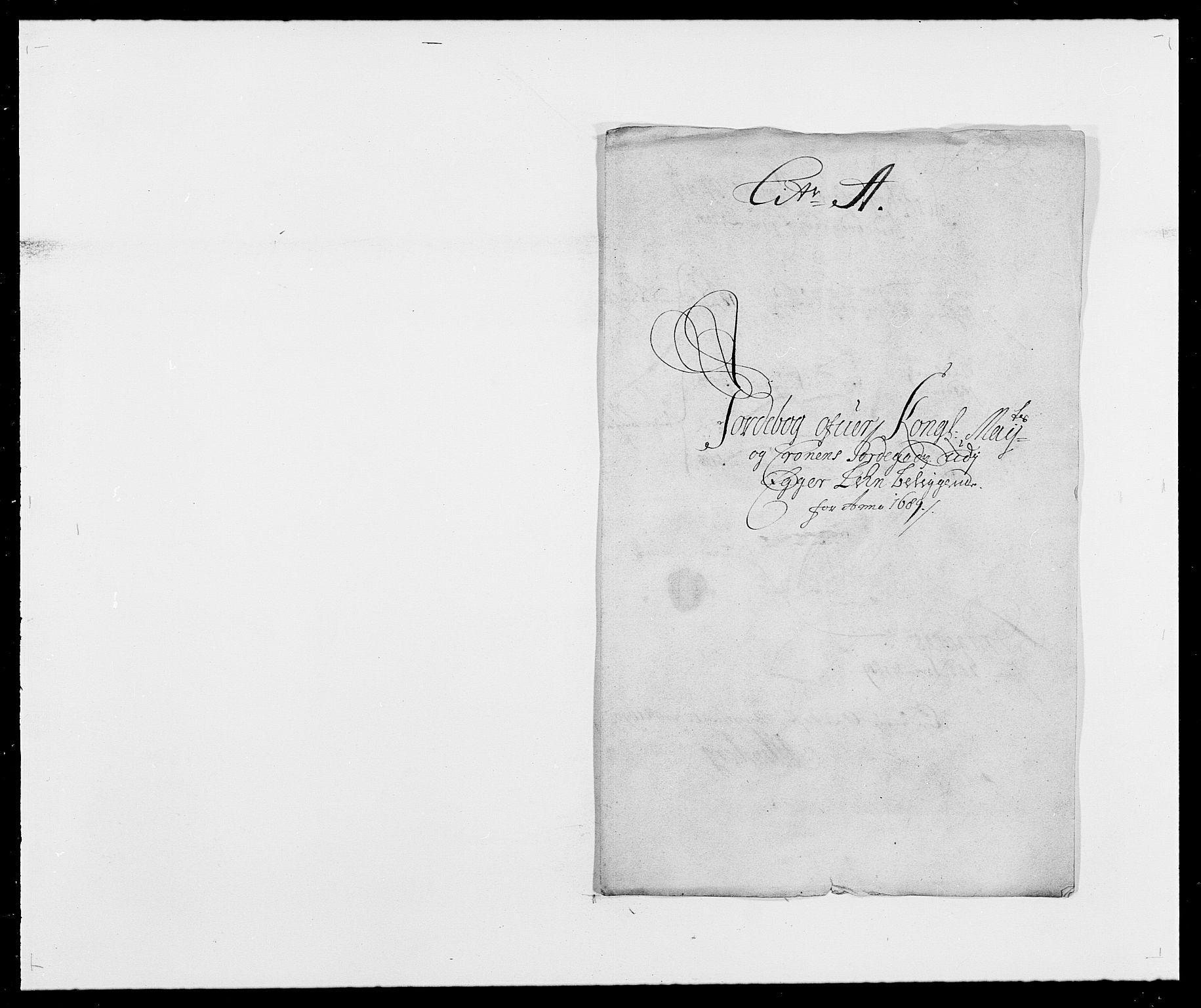 RA, Rentekammeret inntil 1814, Reviderte regnskaper, Fogderegnskap, R28/L1688: Fogderegnskap Eiker og Lier, 1687-1689, s. 340
