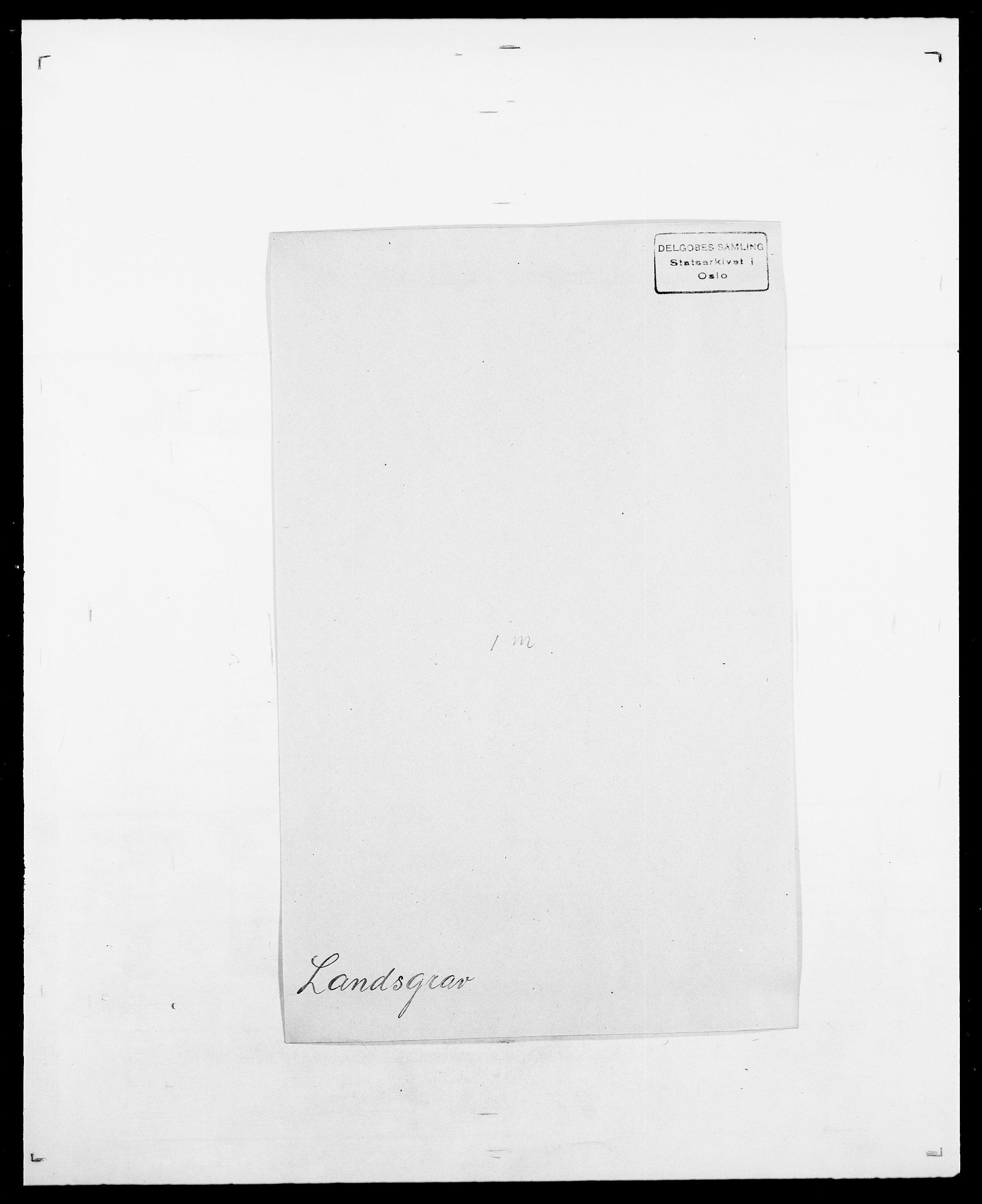 SAO, Delgobe, Charles Antoine - samling, D/Da/L0022: Krog - Lasteen, s. 534
