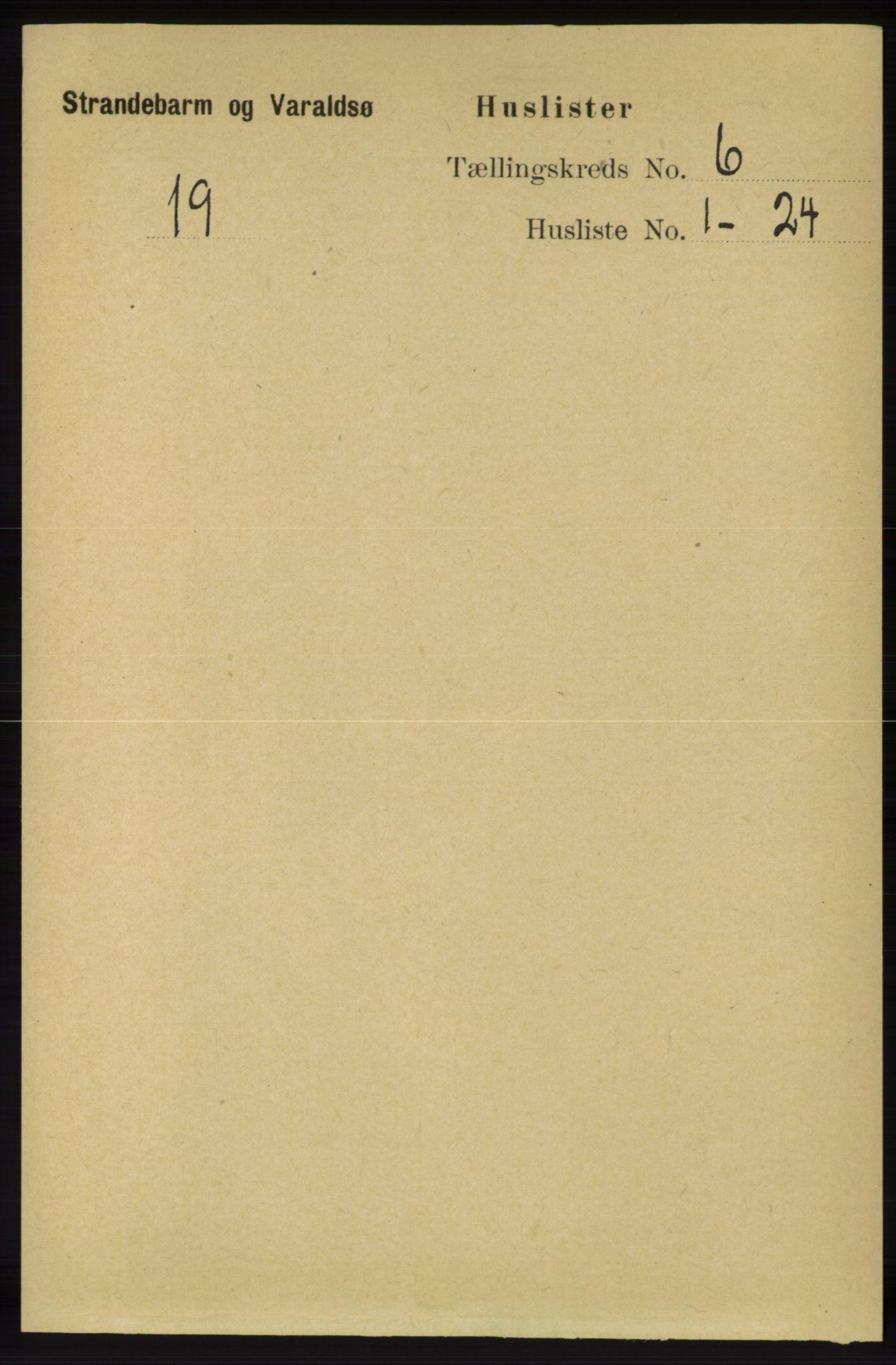 RA, Folketelling 1891 for 1226 Strandebarm og Varaldsøy herred, 1891, s. 2403