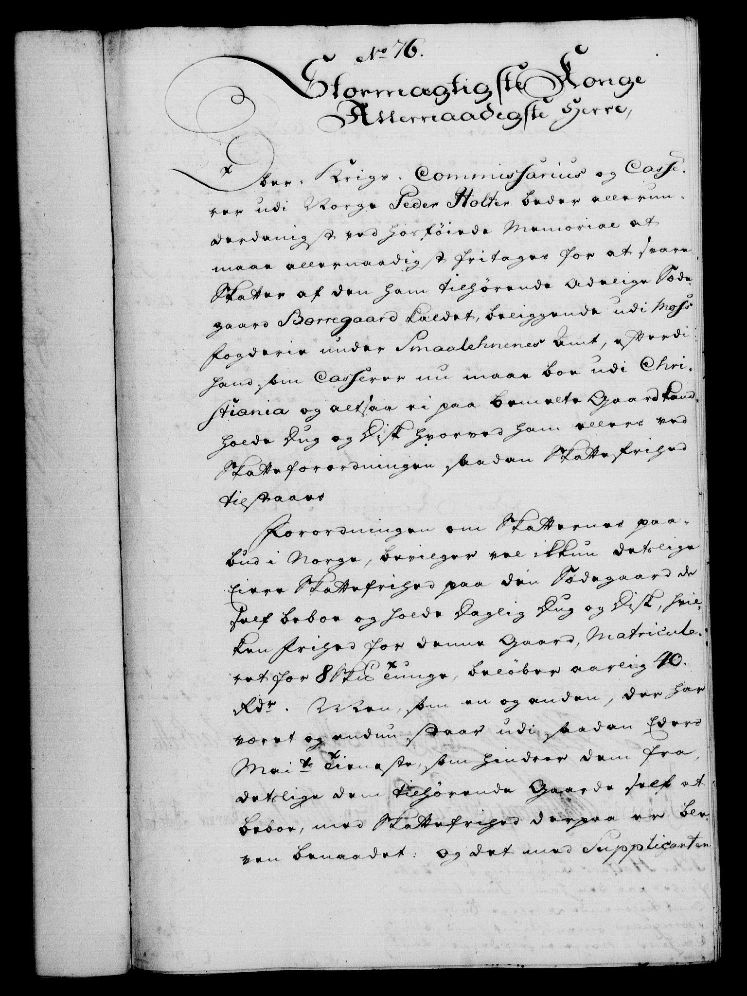 RA, Rentekammeret, Kammerkanselliet, G/Gf/Gfa/L0042: Norsk relasjons- og resolusjonsprotokoll (merket RK 52.42), 1760, s. 279
