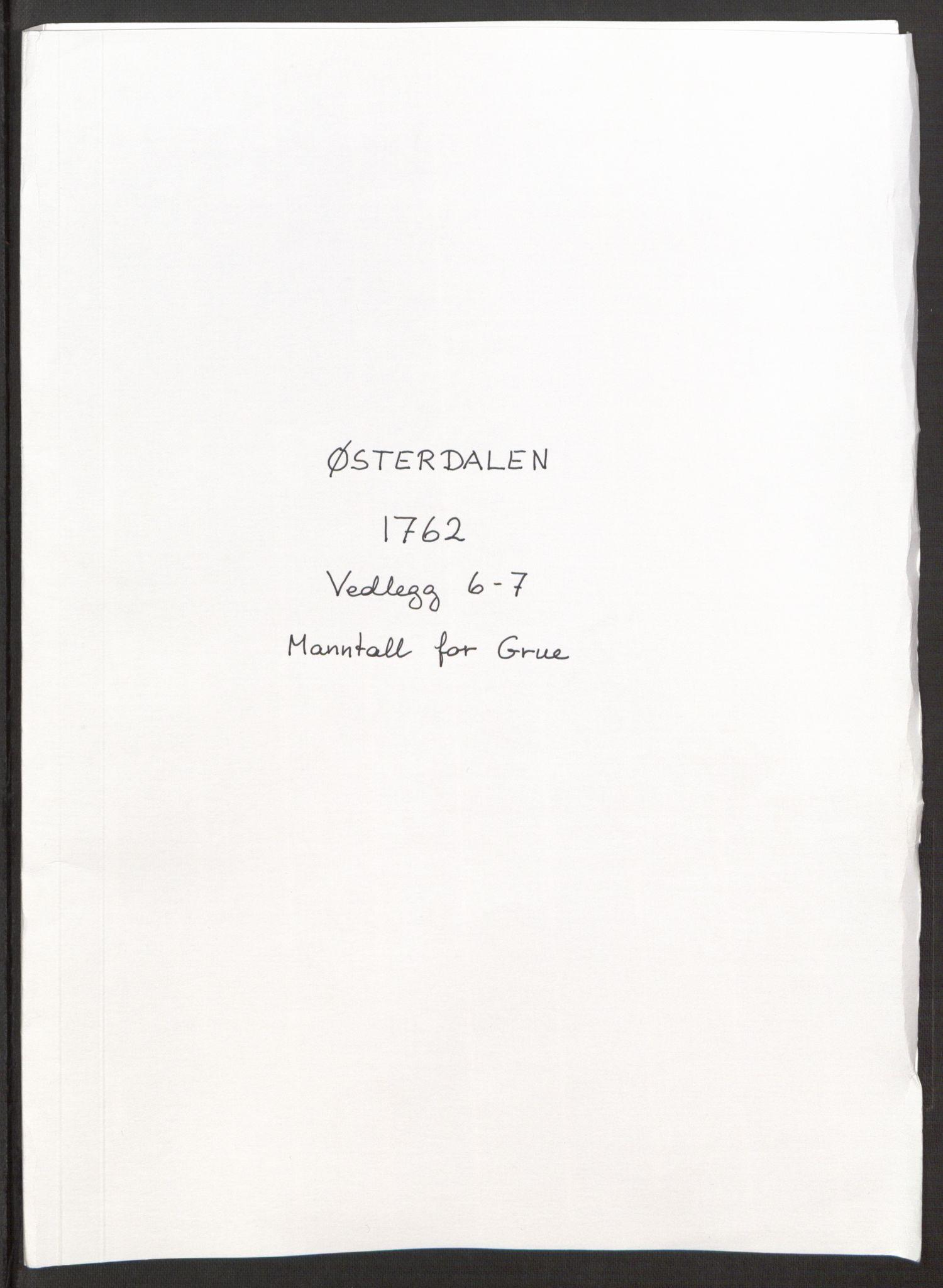 RA, Rentekammeret inntil 1814, Reviderte regnskaper, Fogderegnskap, R15/L1014: Ekstraskatten Østerdal, 1762-1764, s. 145
