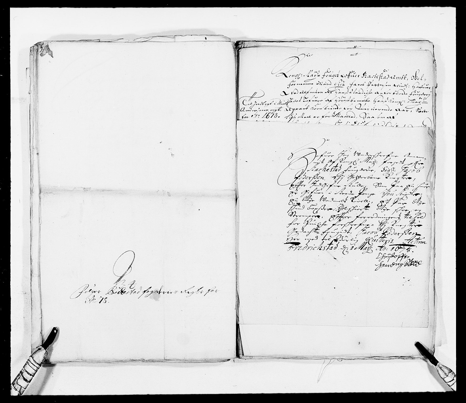 RA, Rentekammeret inntil 1814, Reviderte regnskaper, Fogderegnskap, R05/L0271: Fogderegnskap Rakkestad, 1678-1679, s. 510