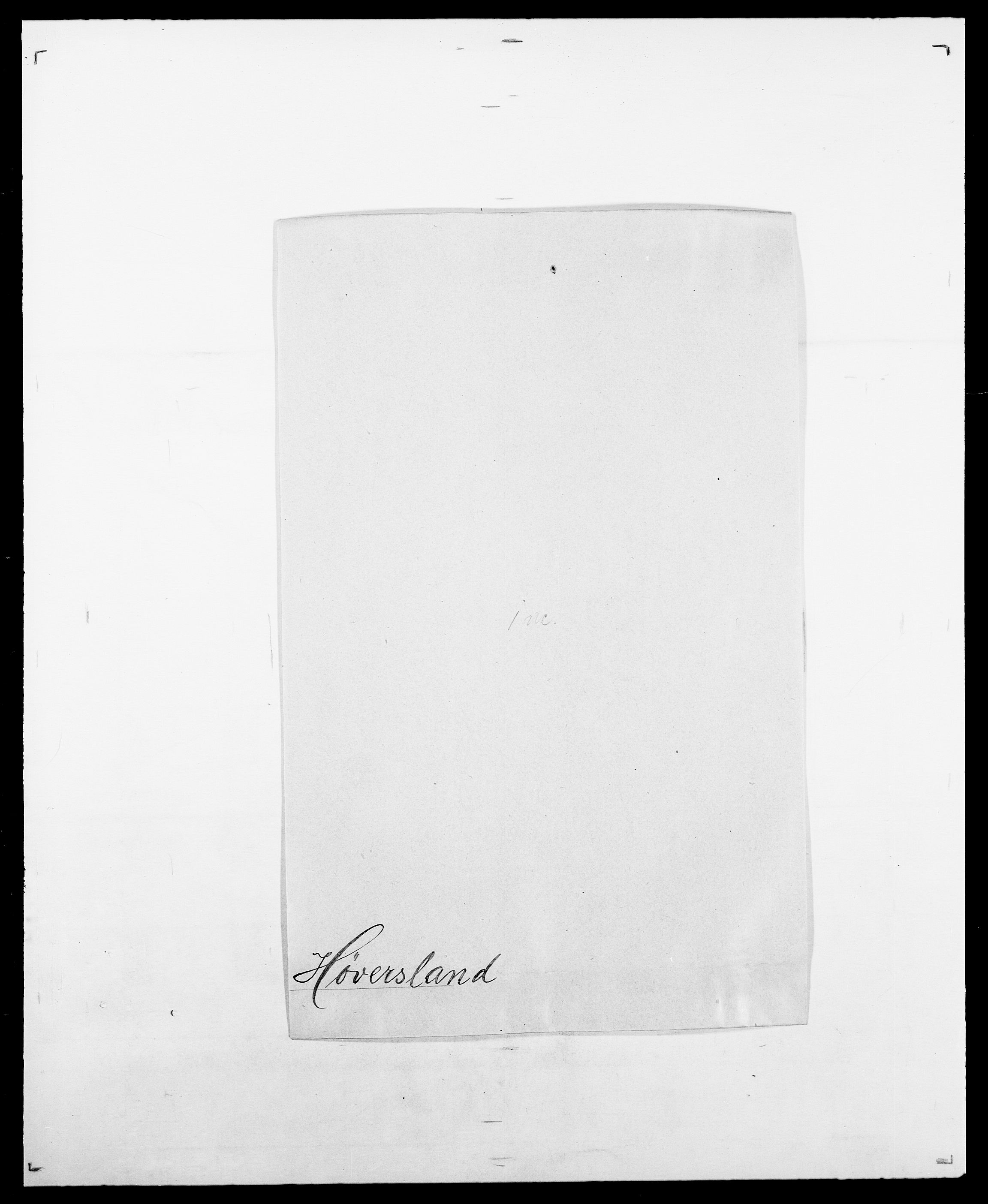 SAO, Delgobe, Charles Antoine - samling, D/Da/L0019: van der Hude - Joys, s. 400