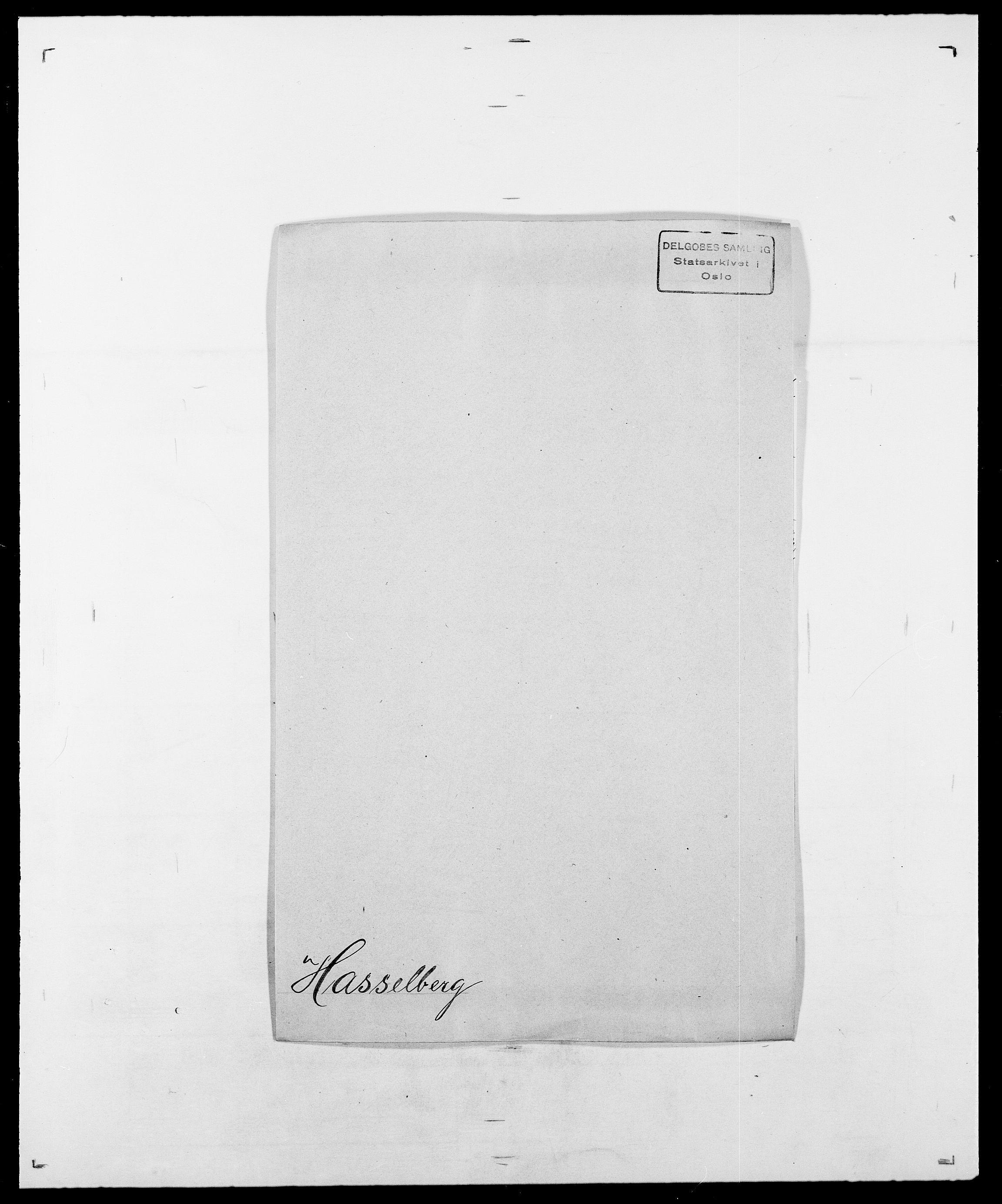 SAO, Delgobe, Charles Antoine - samling, D/Da/L0016: Hamborg - Hektoen, s. 533