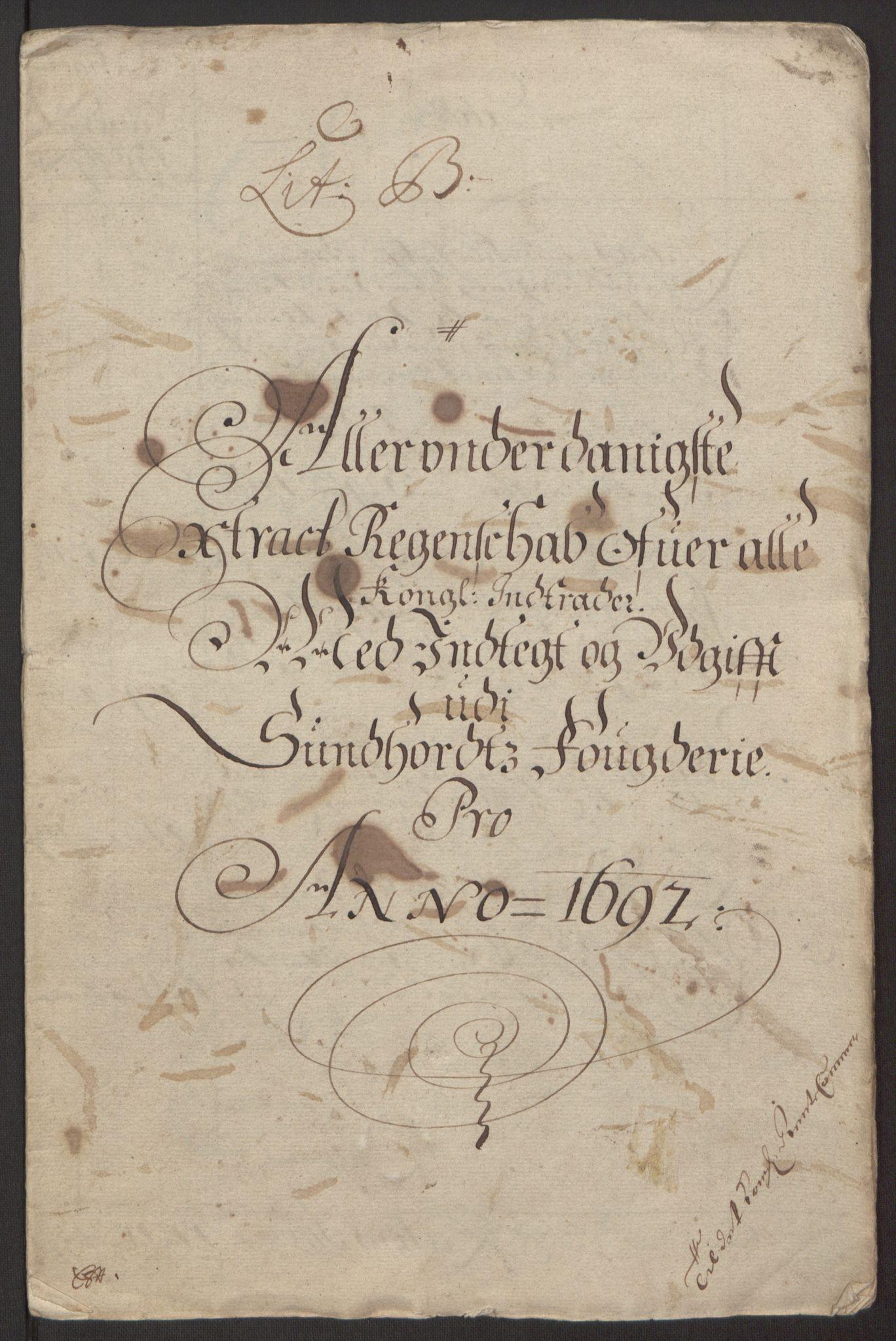 RA, Rentekammeret inntil 1814, Reviderte regnskaper, Fogderegnskap, R48/L2973: Fogderegnskap Sunnhordland og Hardanger, 1691-1692, s. 321