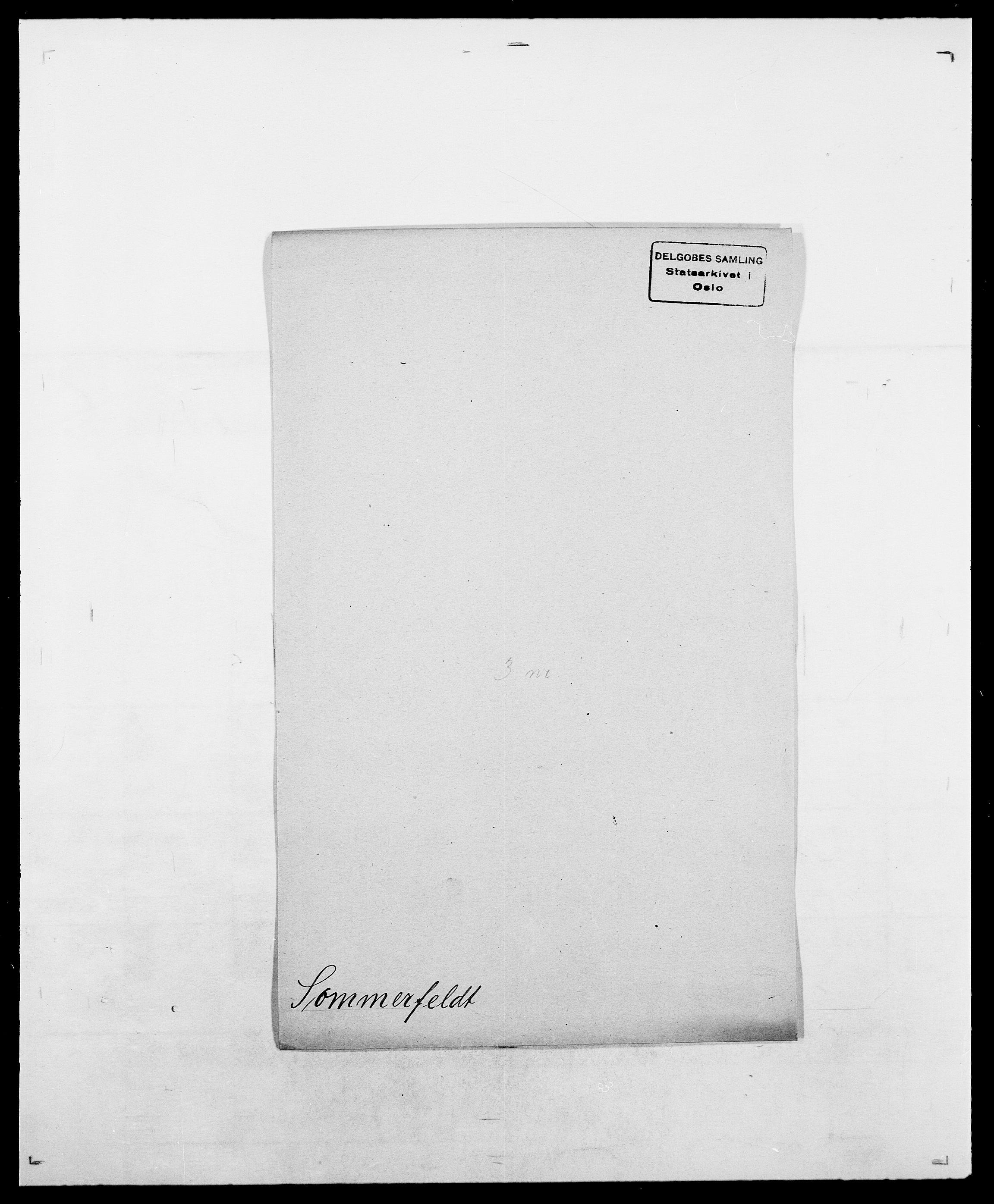 SAO, Delgobe, Charles Antoine - samling, D/Da/L0036: Skaanør - Staverskov, s. 447