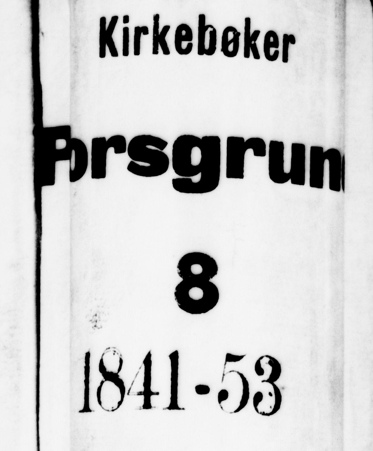 SAKO, Porsgrunn kirkebøker , G/Gb/L0003: Klokkerbok nr. II 3, 1841-1852