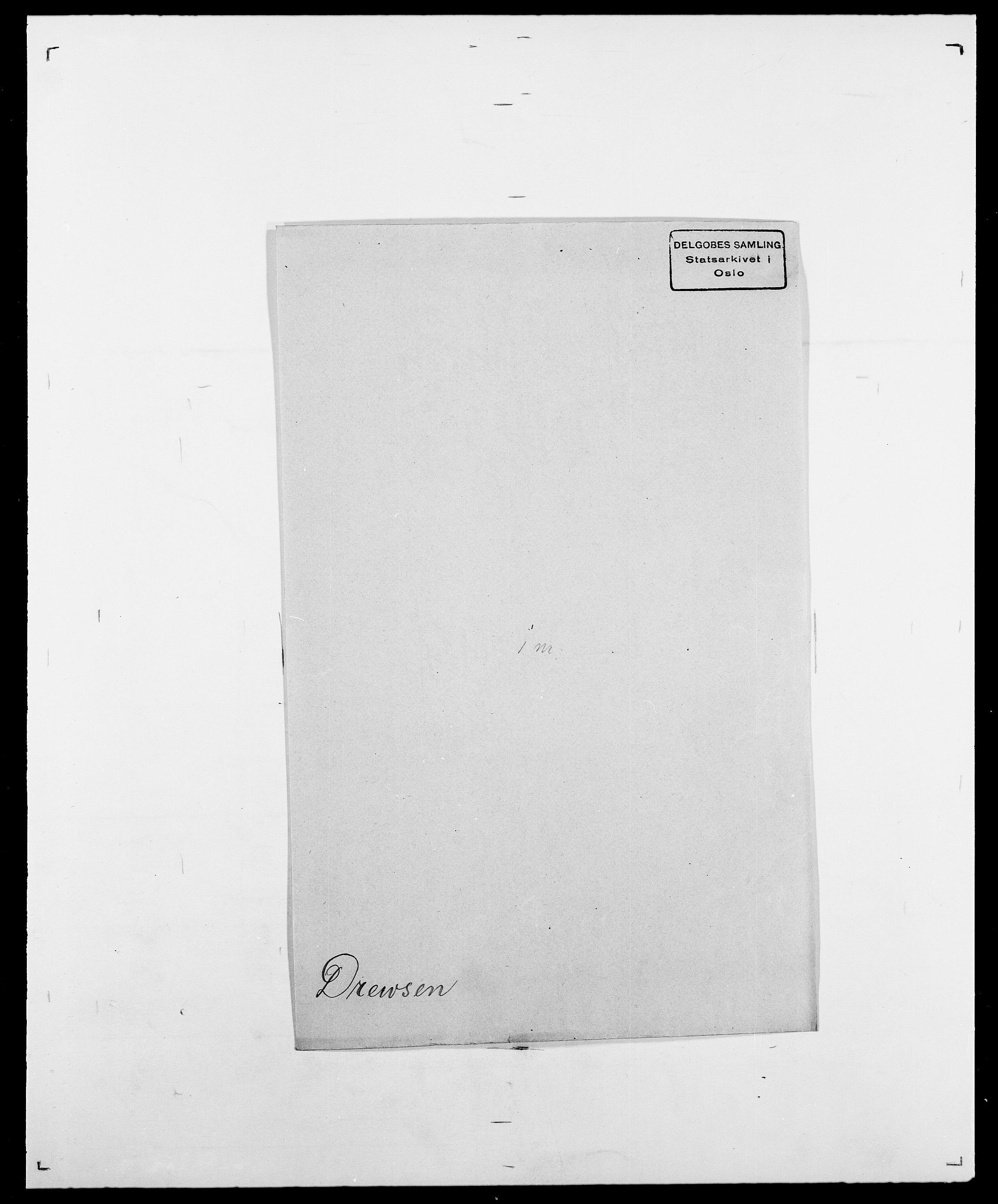 SAO, Delgobe, Charles Antoine - samling, D/Da/L0009: Dahl - v. Düren, s. 781