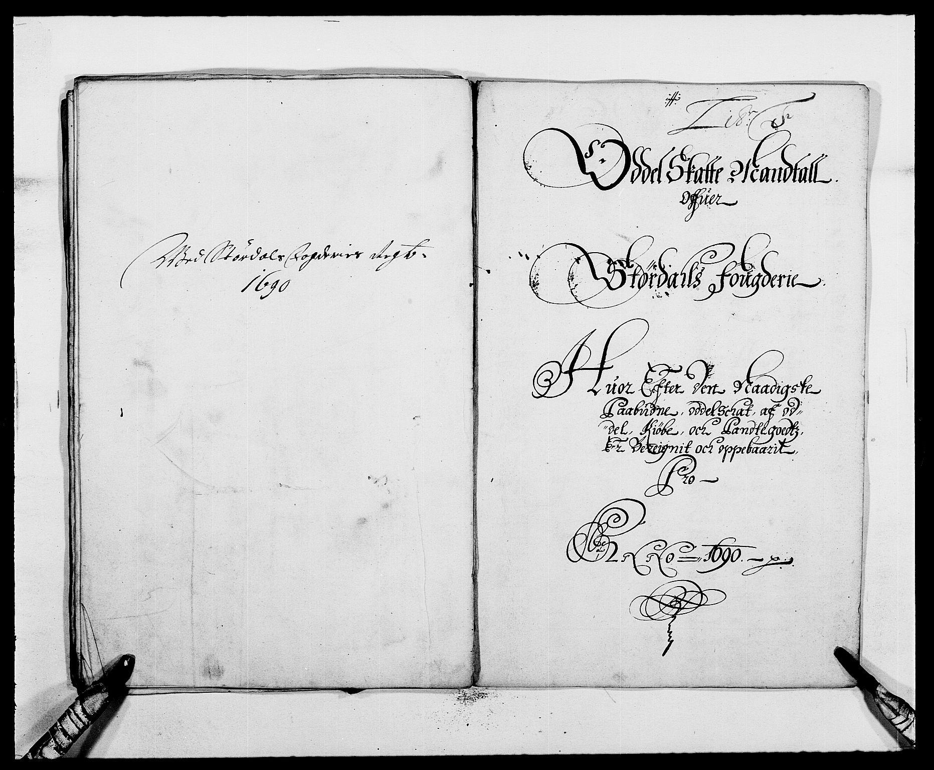 RA, Rentekammeret inntil 1814, Reviderte regnskaper, Fogderegnskap, R62/L4184: Fogderegnskap Stjørdal og Verdal, 1690-1691, s. 93