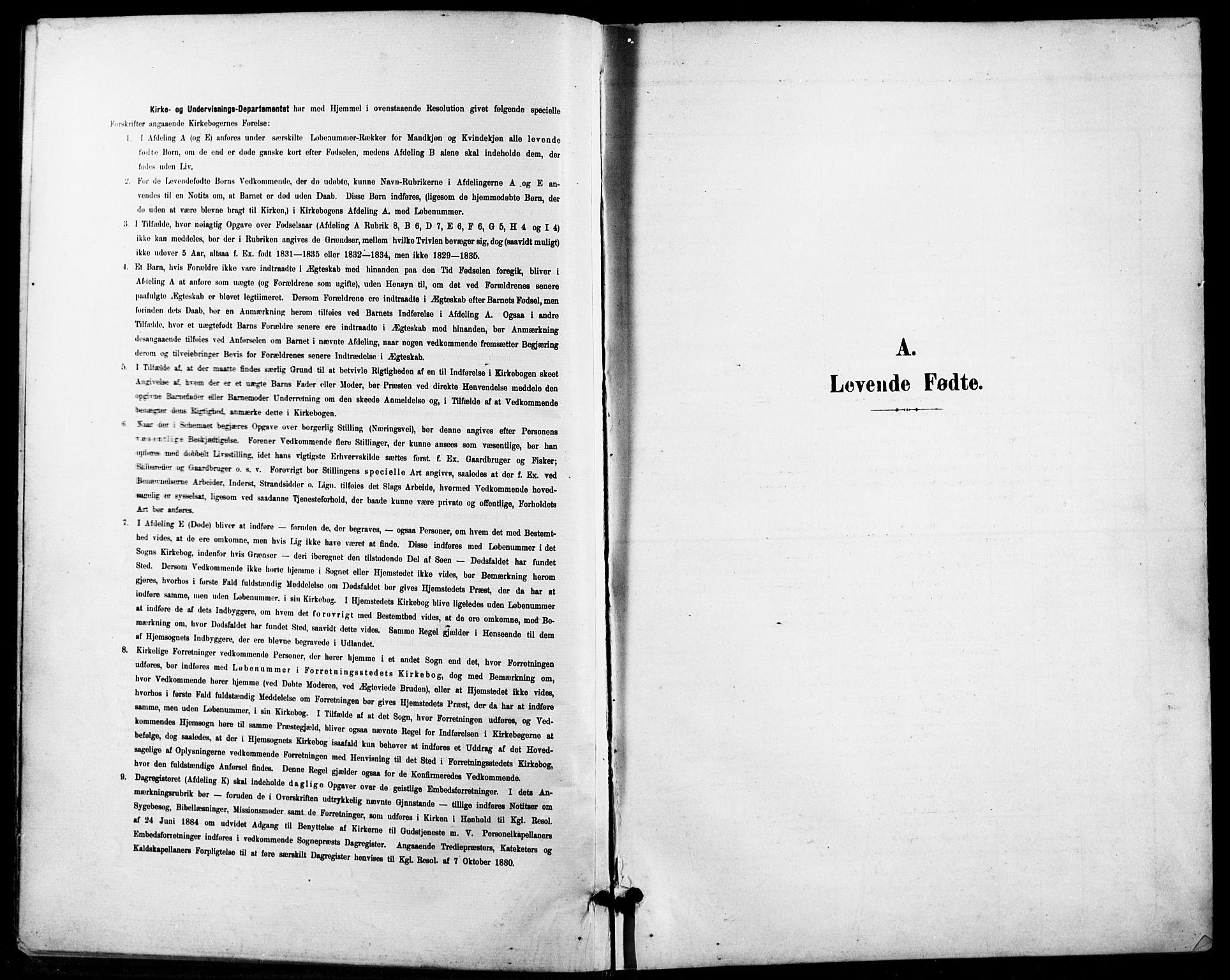 SAO, Petrus prestekontor Kirkebøker, G/Ga/L0003: Klokkerbok nr. 3, 1899-1913
