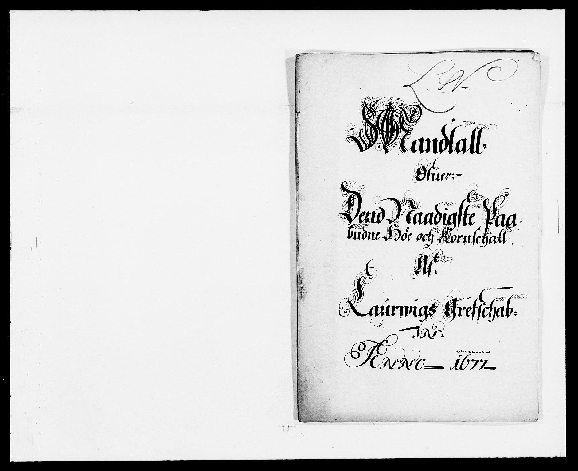 RA, Rentekammeret inntil 1814, Reviderte regnskaper, Fogderegnskap, R33/L1968: Fogderegnskap Larvik grevskap, 1675-1687, s. 86