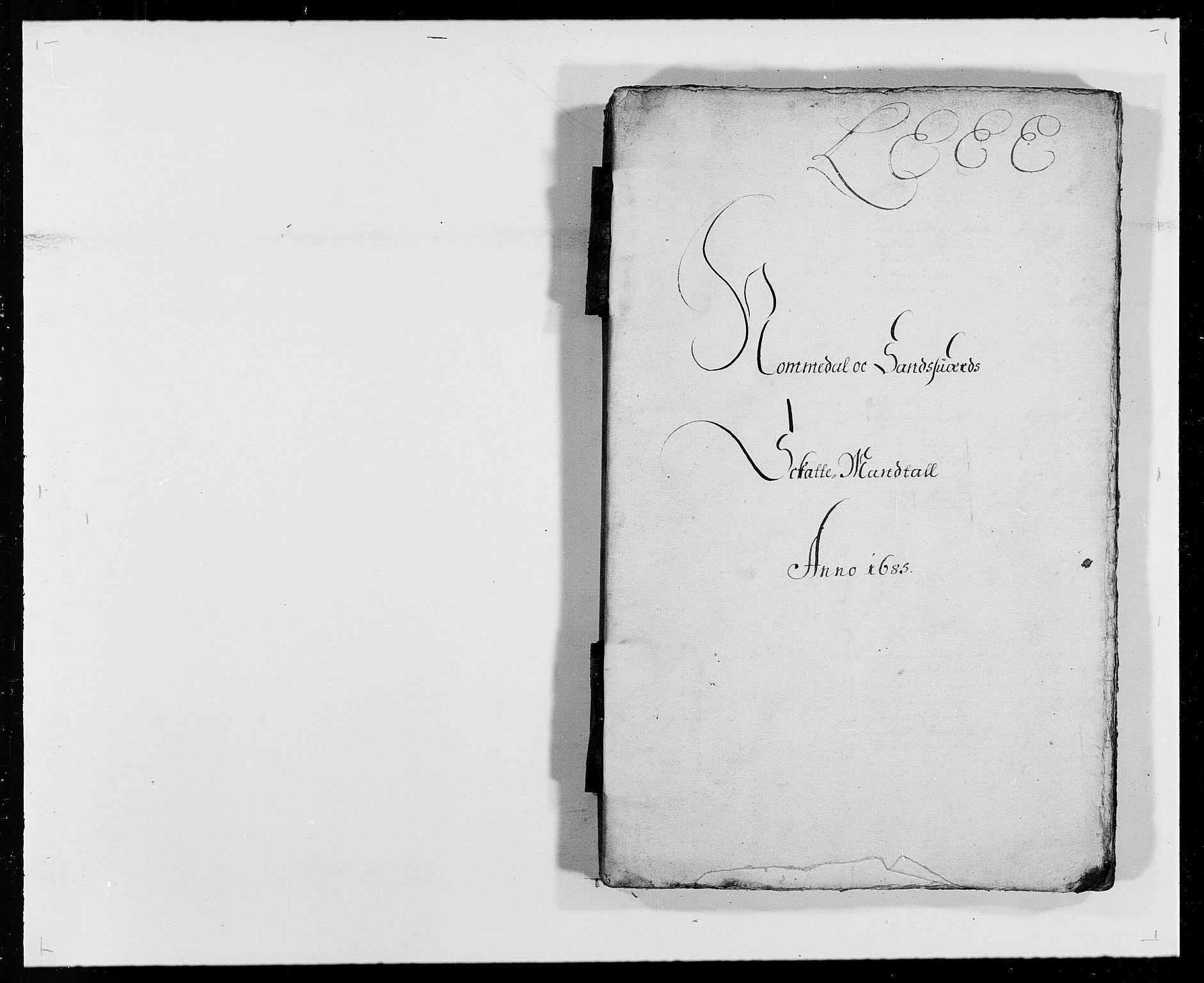 RA, Rentekammeret inntil 1814, Reviderte regnskaper, Fogderegnskap, R24/L1571: Fogderegnskap Numedal og Sandsvær, 1679-1686, s. 264