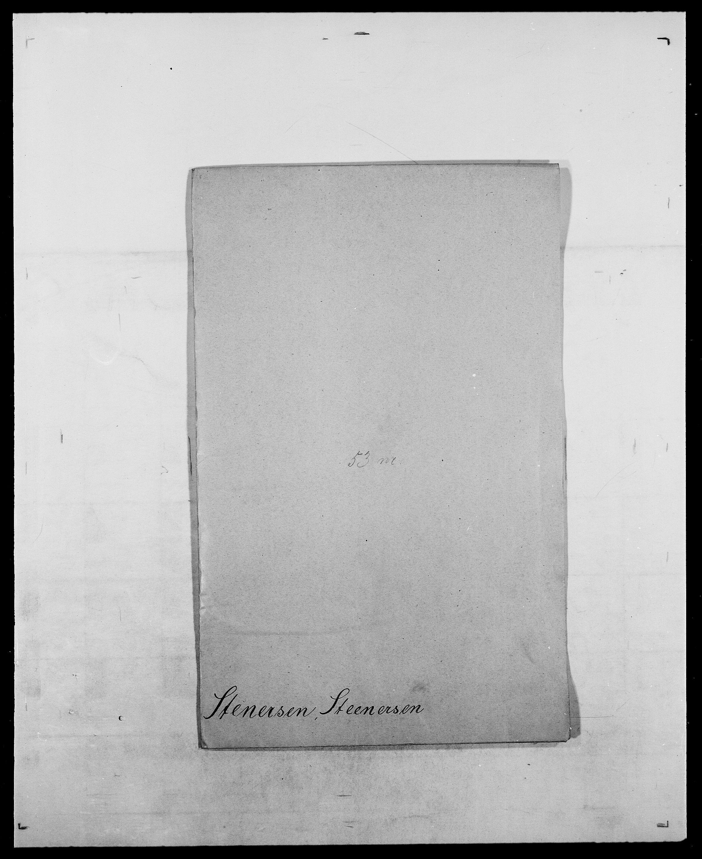 SAO, Delgobe, Charles Antoine - samling, D/Da/L0037: Steen, Sthen, Stein - Svare, Svanige, Svanne, se også Svanning og Schwane, s. 275