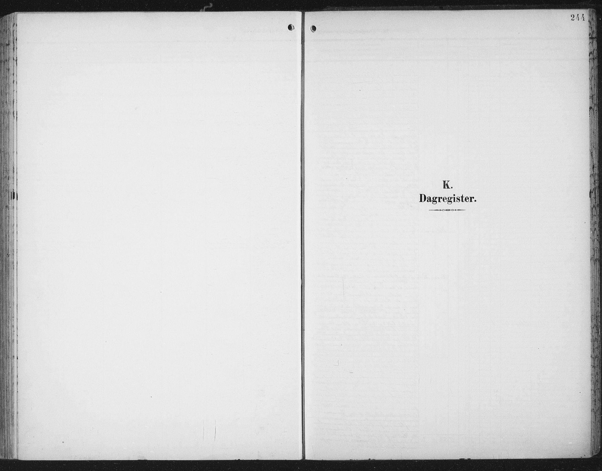 SAT, Ministerialprotokoller, klokkerbøker og fødselsregistre - Nord-Trøndelag, 701/L0011: Ministerialbok nr. 701A11, 1899-1915, s. 244