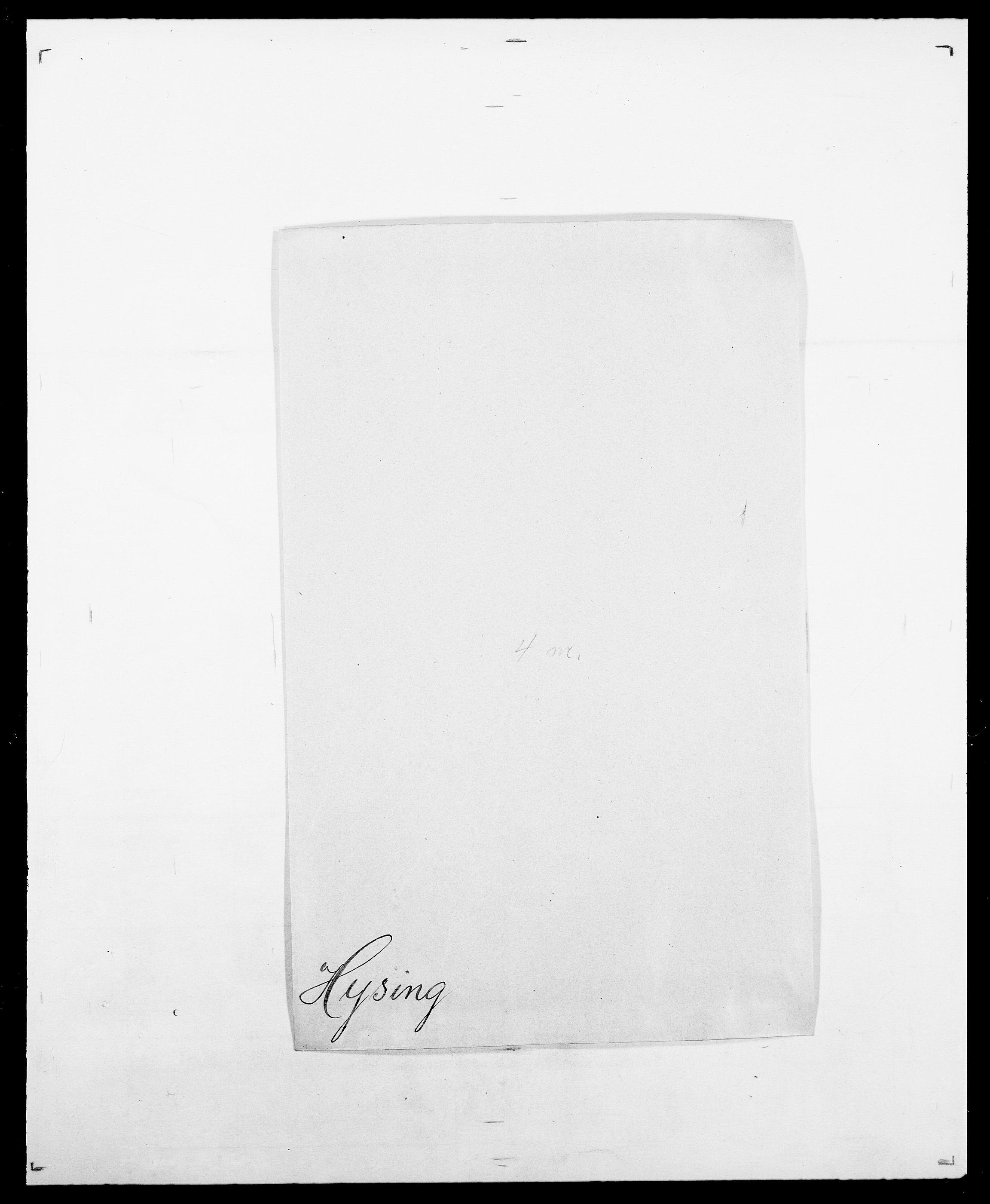 SAO, Delgobe, Charles Antoine - samling, D/Da/L0019: van der Hude - Joys, s. 293