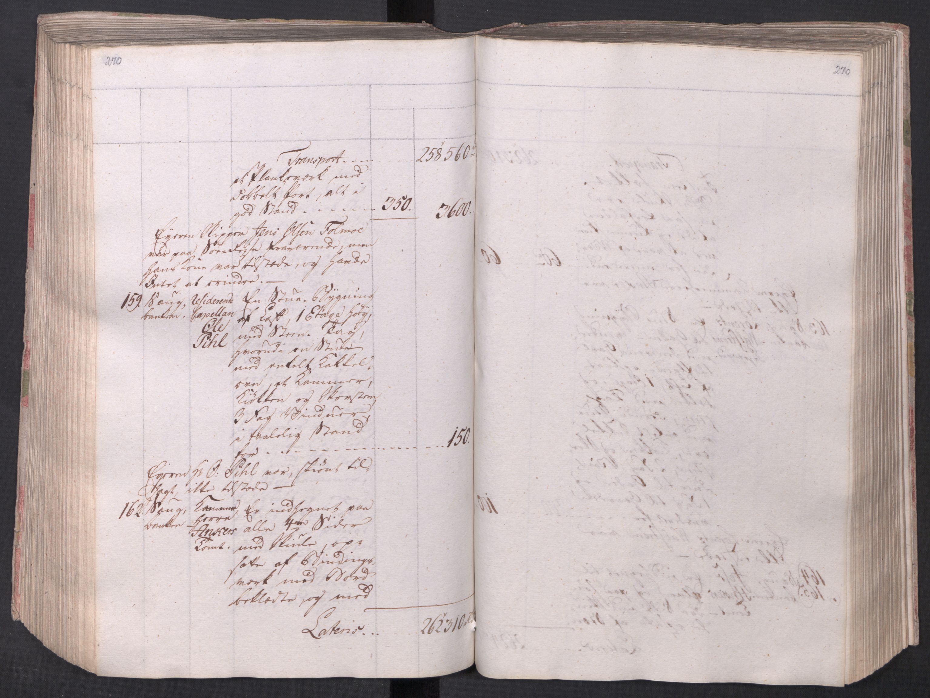 SAO, Kristiania stiftamt, I/Ia/L0015: Branntakster, 1797, s. 270