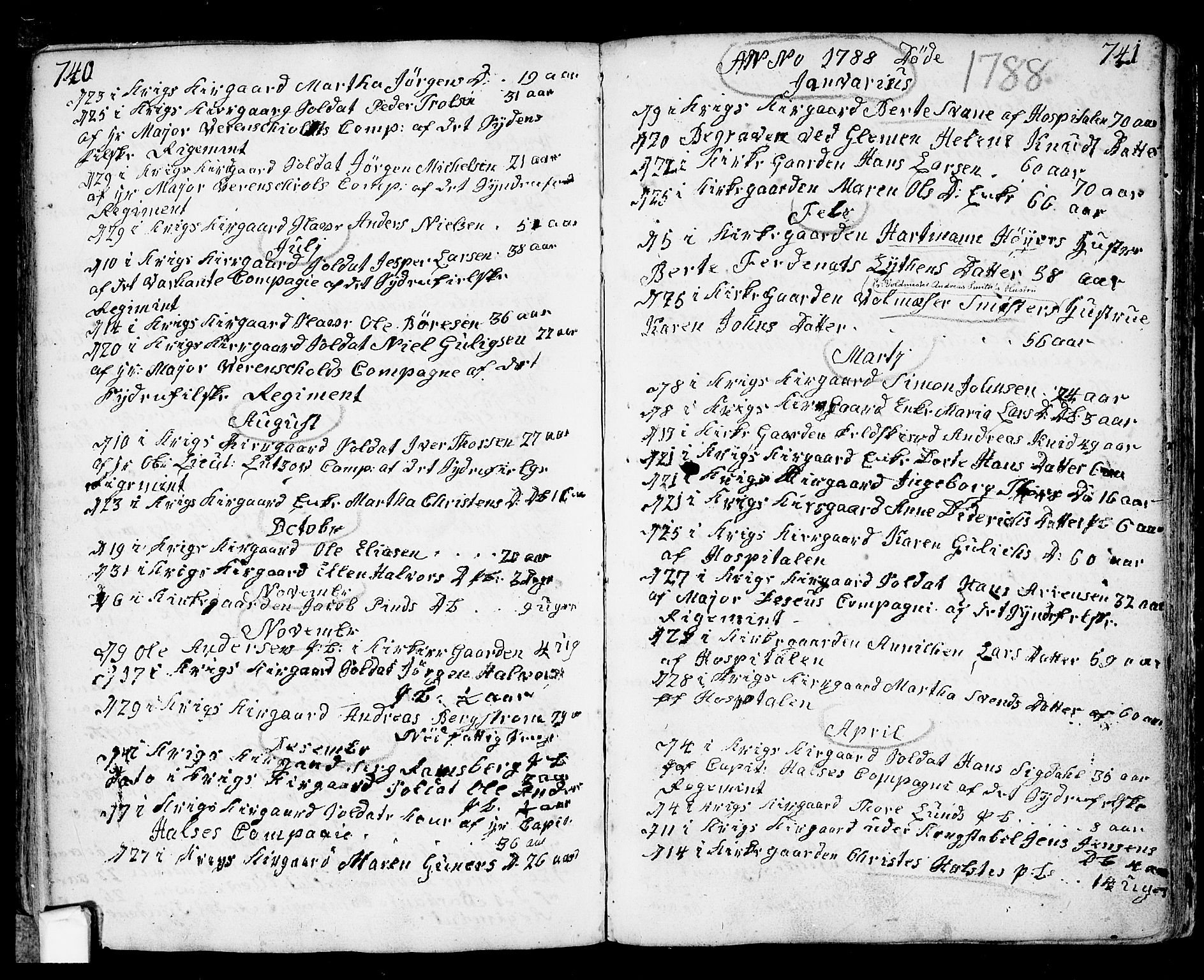 SAO, Fredrikstad prestekontor Kirkebøker, F/Fa/L0002: Ministerialbok nr. 2, 1750-1804, s. 740-741