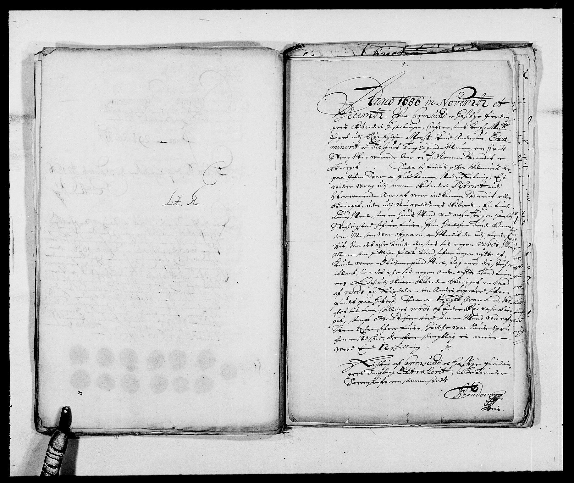 RA, Rentekammeret inntil 1814, Reviderte regnskaper, Fogderegnskap, R47/L2855: Fogderegnskap Ryfylke, 1685-1688, s. 203