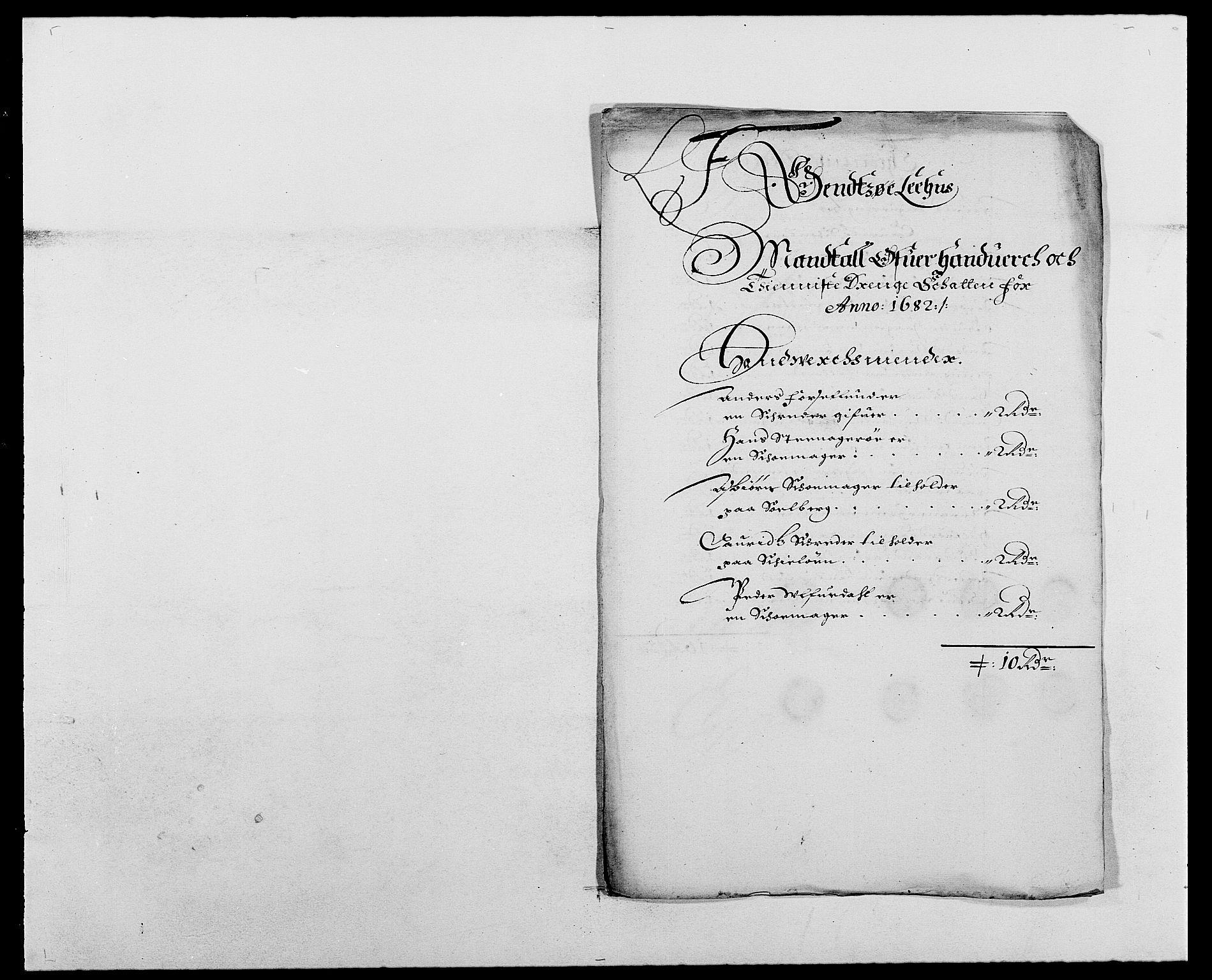 RA, Rentekammeret inntil 1814, Reviderte regnskaper, Fogderegnskap, R03/L0112: Fogderegnskap Onsøy, Tune, Veme og Åbygge fogderi, 1681-1683, s. 152