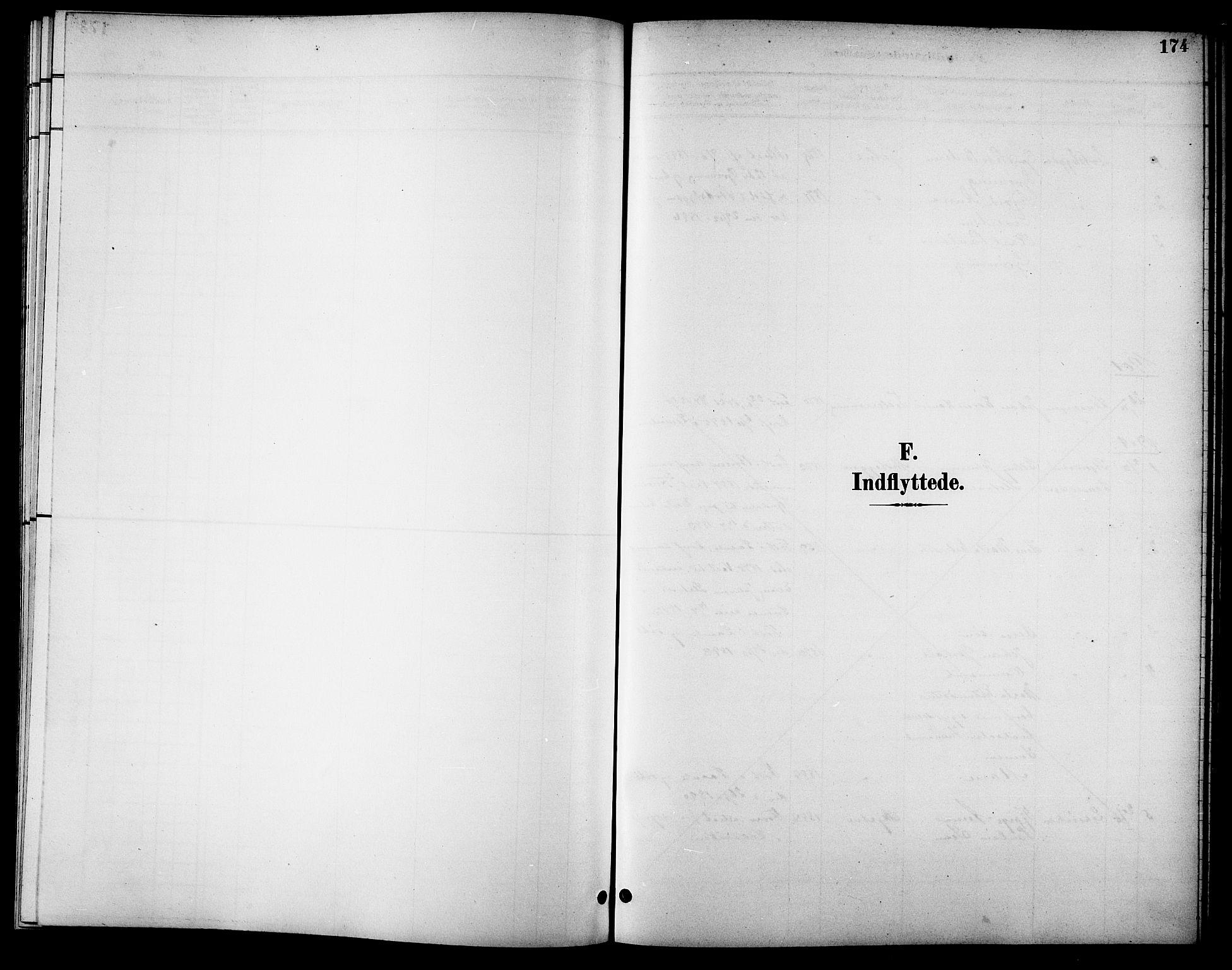 SAT, Ministerialprotokoller, klokkerbøker og fødselsregistre - Sør-Trøndelag, 621/L0460: Klokkerbok nr. 621C03, 1896-1914, s. 174