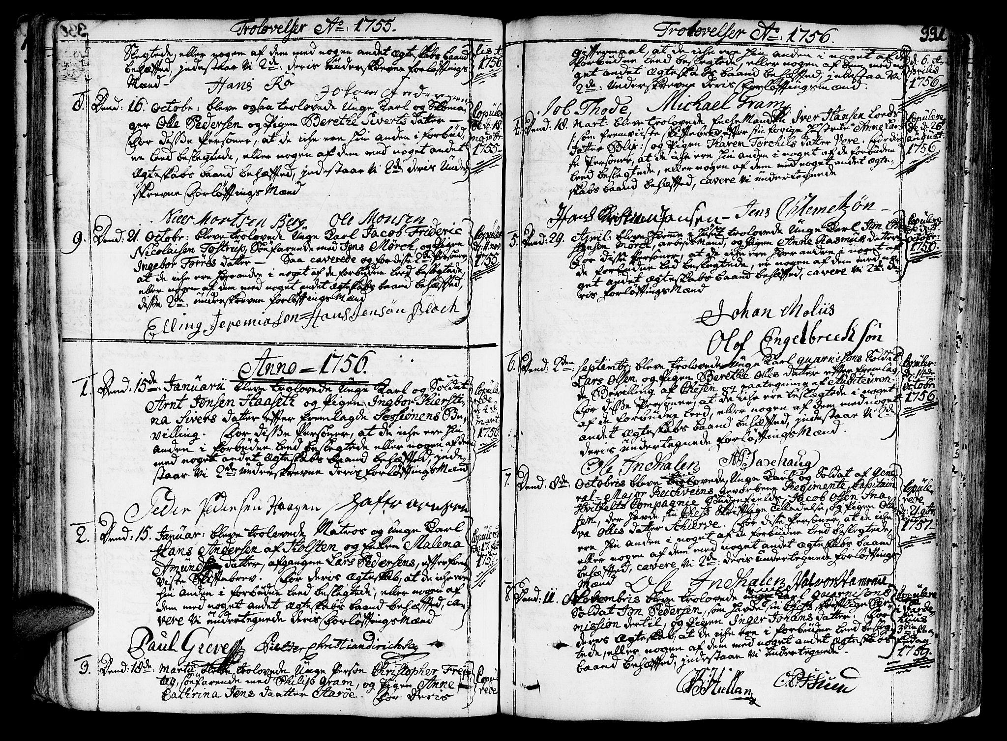 SAT, Ministerialprotokoller, klokkerbøker og fødselsregistre - Sør-Trøndelag, 602/L0103: Ministerialbok nr. 602A01, 1732-1774, s. 331