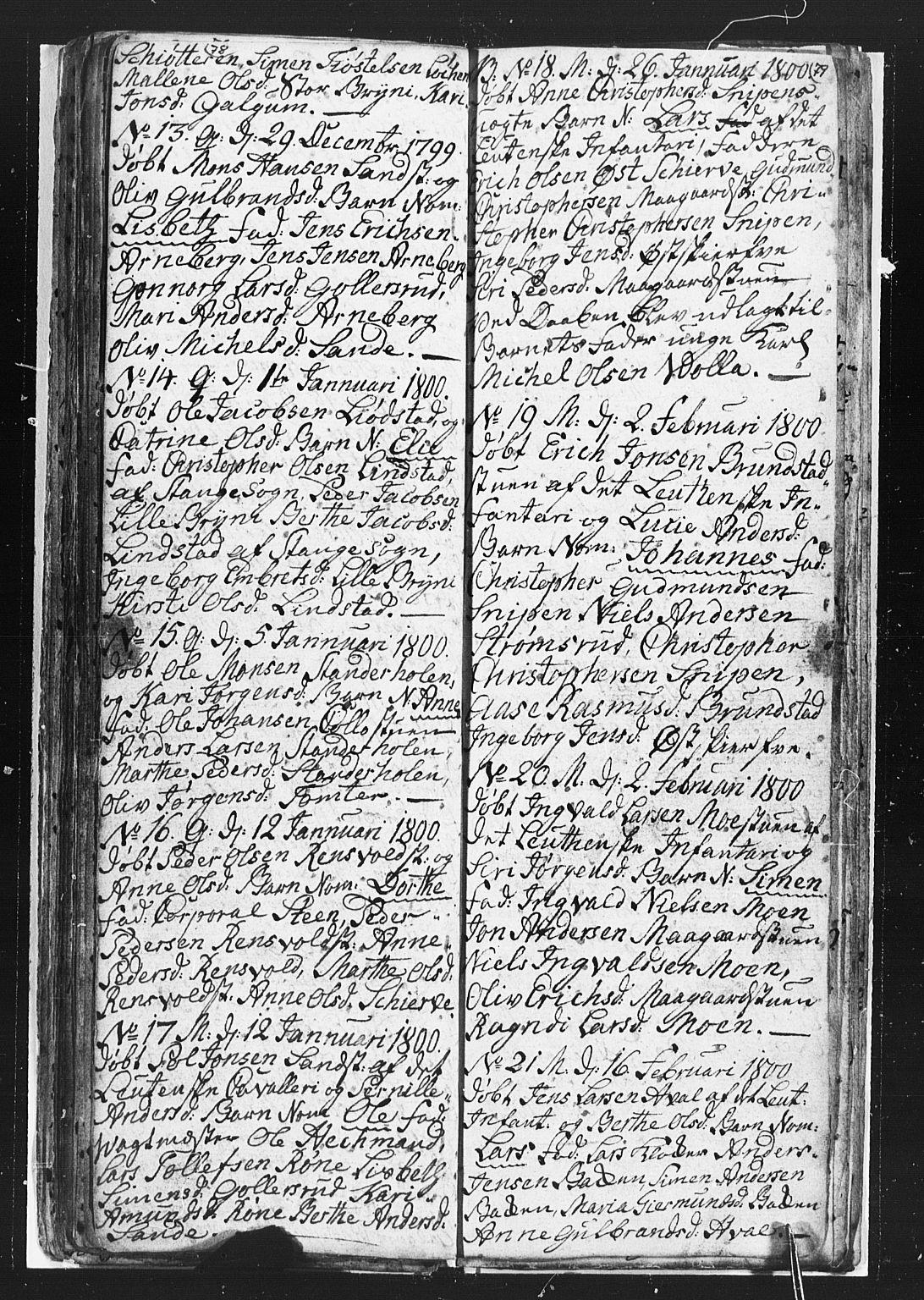 SAH, Romedal prestekontor, L/L0002: Klokkerbok nr. 2, 1795-1800, s. 78-79