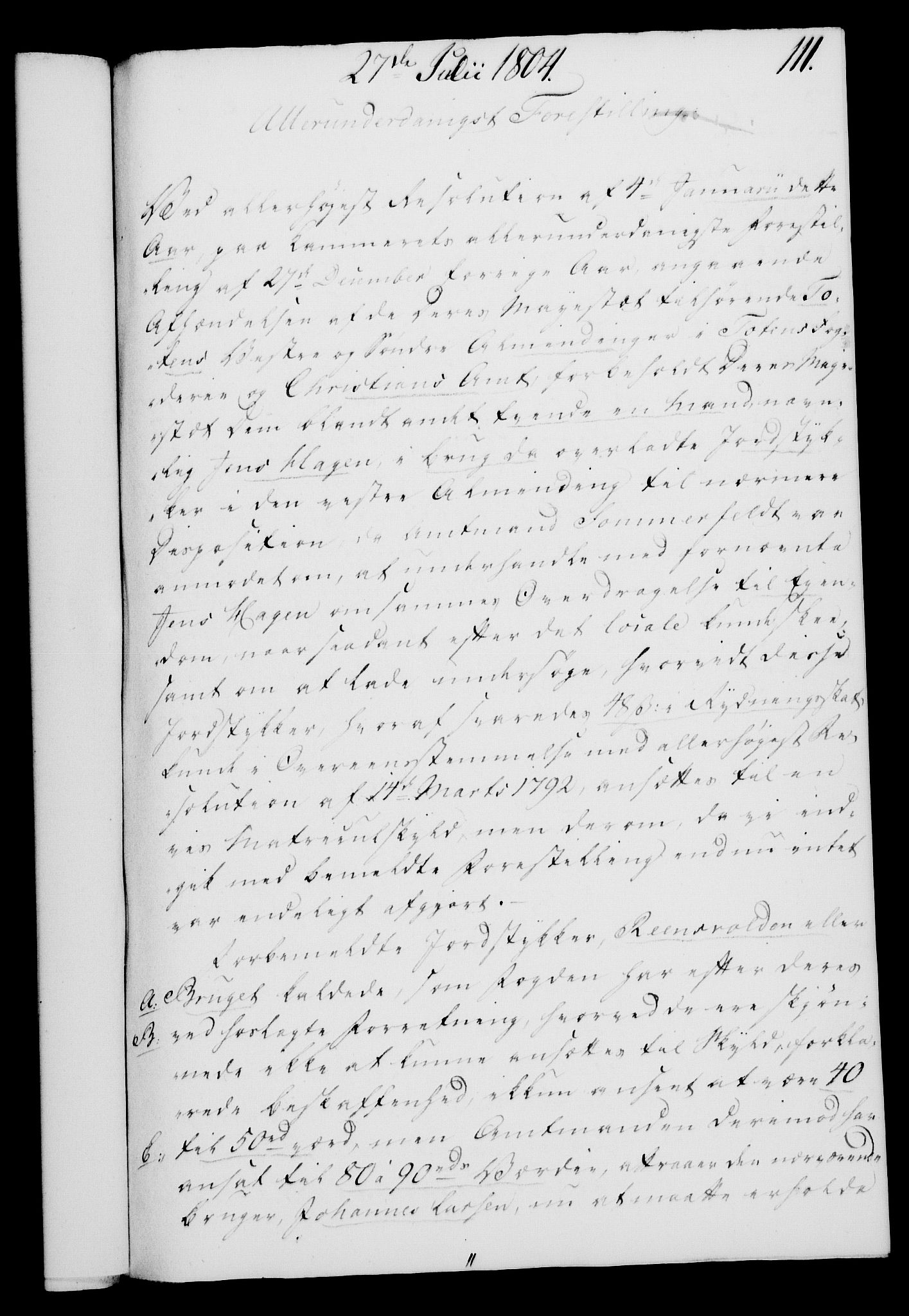 RA, Rentekammeret, Kammerkanselliet, G/Gf/Gfa/L0086: Norsk relasjons- og resolusjonsprotokoll (merket RK 52.86), 1804, s. 643