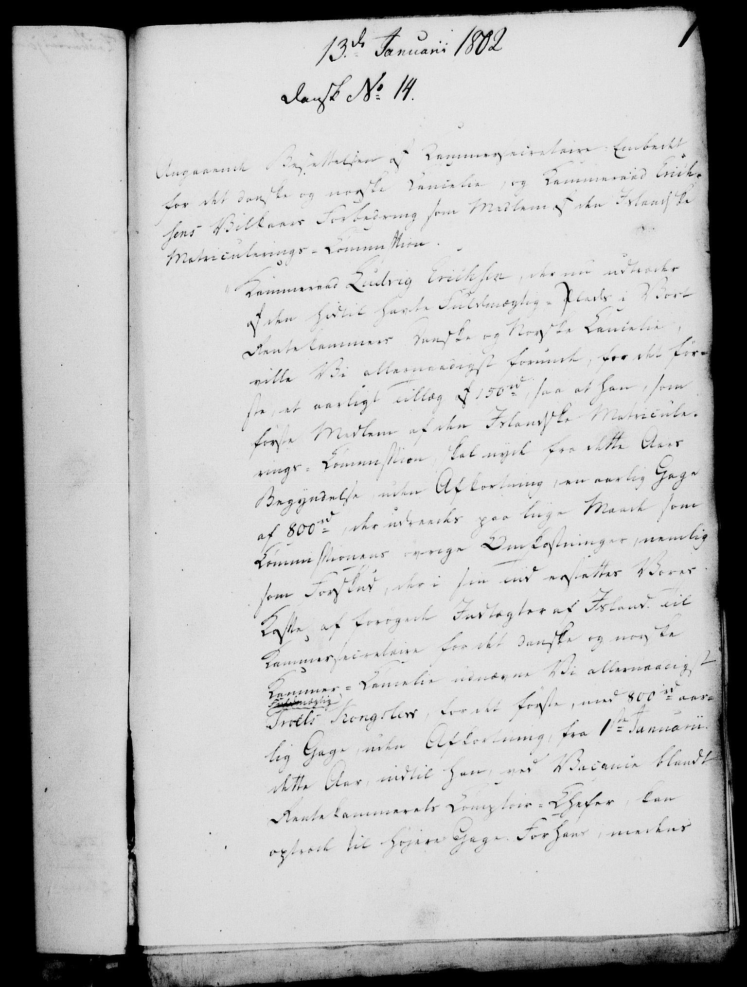 RA, Rentekammeret, Kammerkanselliet, G/Gf/Gfa/L0084: Norsk relasjons- og resolusjonsprotokoll (merket RK 52.84), 1802, s. 27
