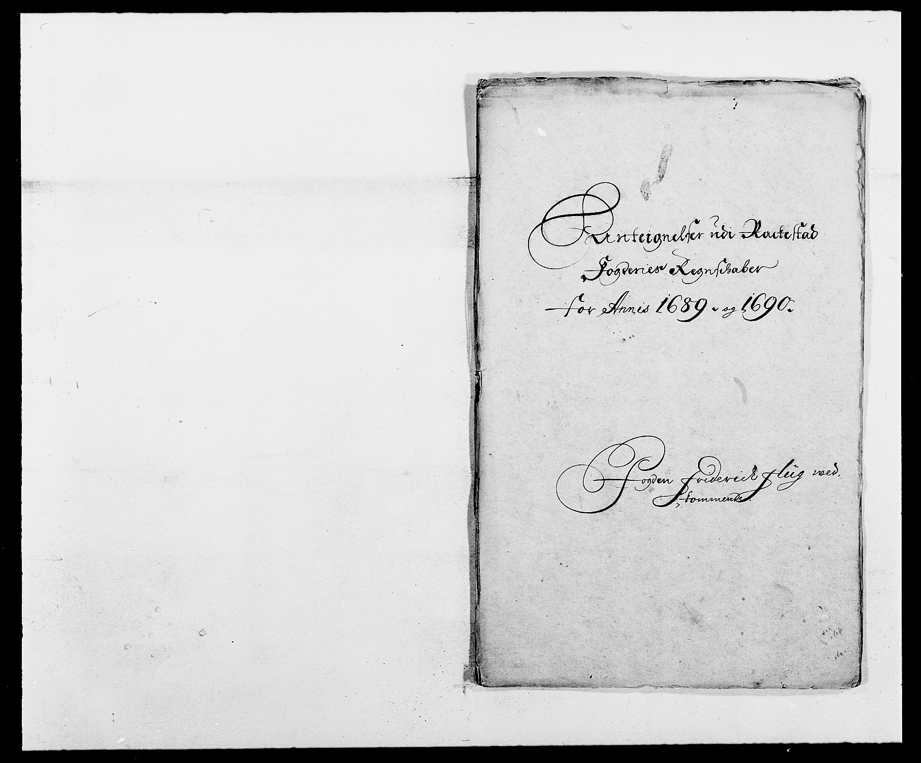 RA, Rentekammeret inntil 1814, Reviderte regnskaper, Fogderegnskap, R05/L0277: Fogderegnskap Rakkestad, 1689-1690, s. 383