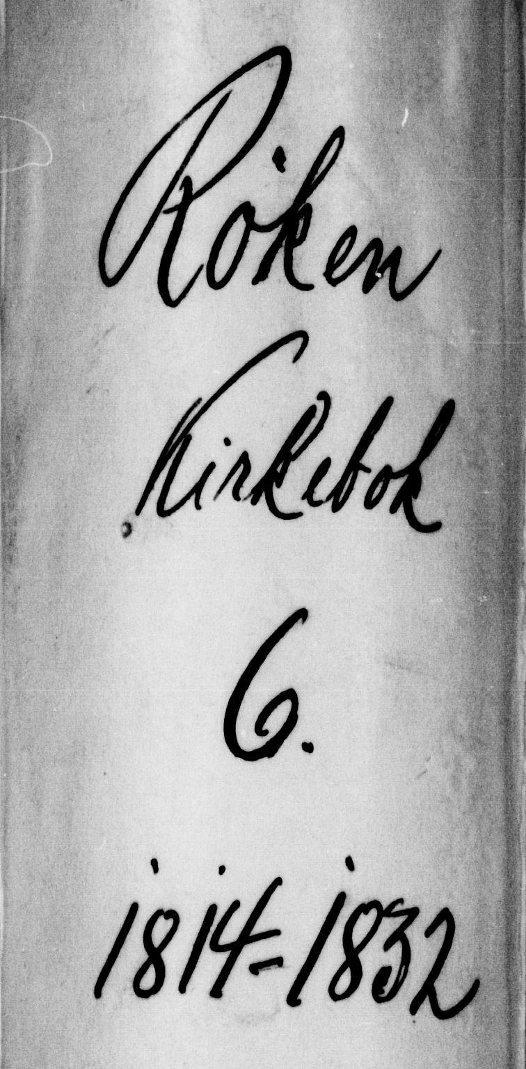 SAKO, Røyken kirkebøker, F/Fa/L0004: Ministerialbok nr. 4, 1814-1832
