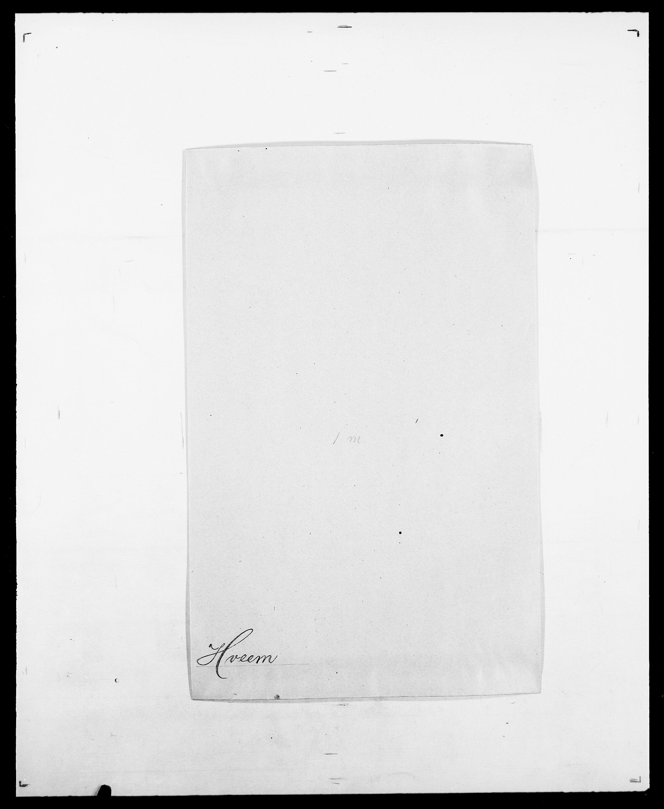 SAO, Delgobe, Charles Antoine - samling, D/Da/L0019: van der Hude - Joys, s. 144