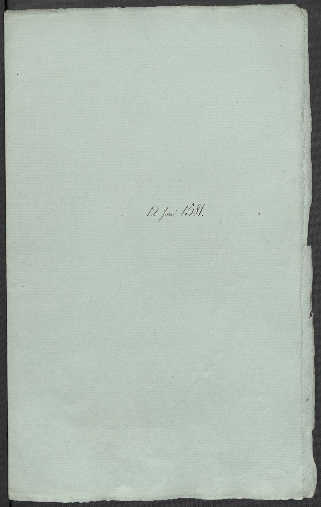 RA, Riksarkivets diplomsamling, F02/L0083: Dokumenter, 1581, s. 22