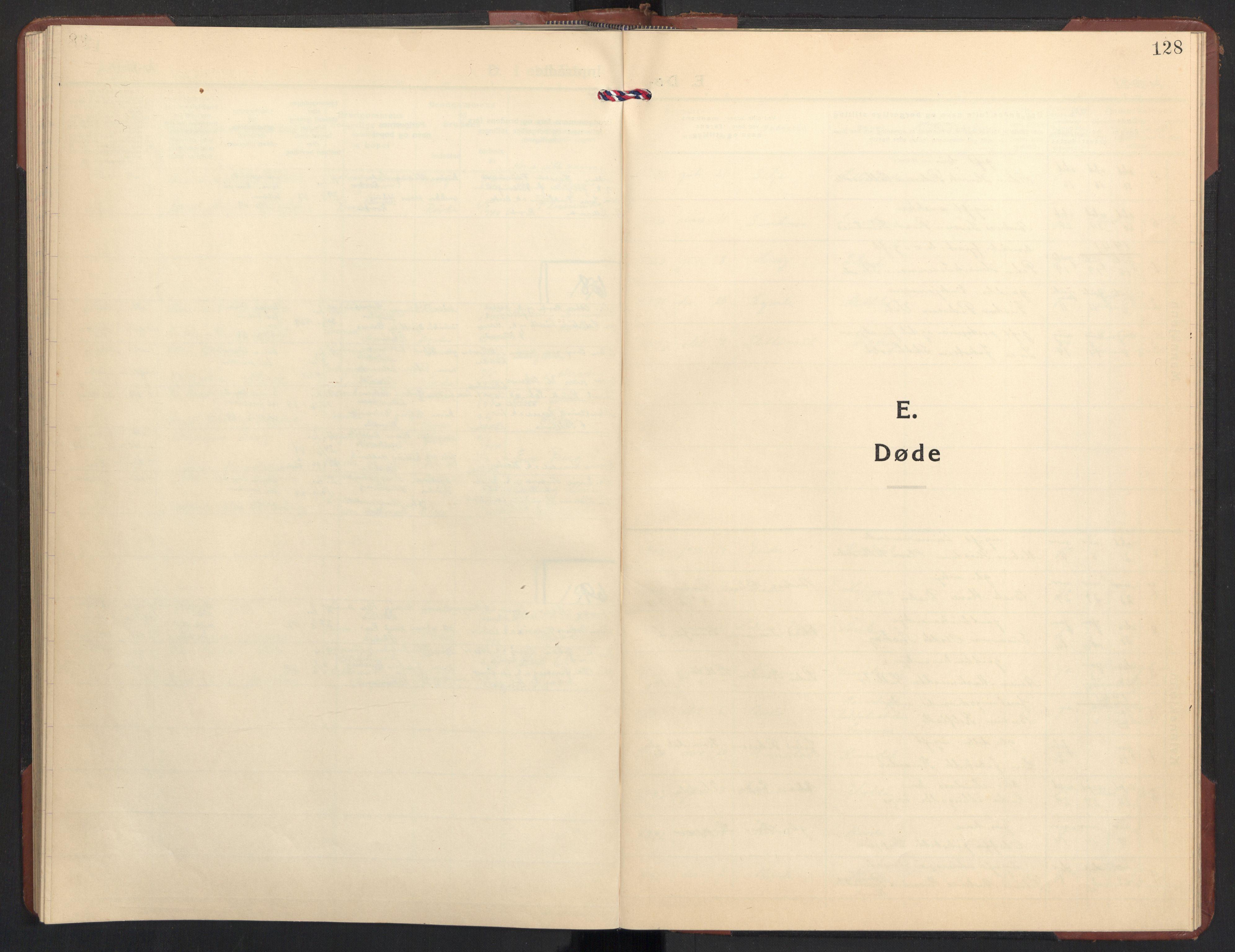 SAT, Ministerialprotokoller, klokkerbøker og fødselsregistre - Møre og Romsdal, 504/L0063: Klokkerbok nr. 504C05, 1939-1972, s. 128