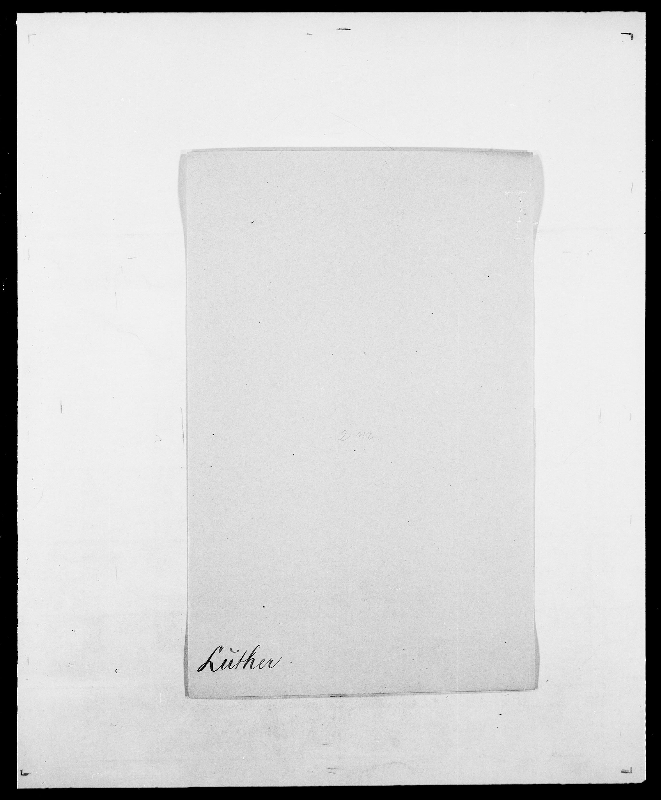 SAO, Delgobe, Charles Antoine - samling, D/Da/L0024: Lobech - Lærum, s. 670