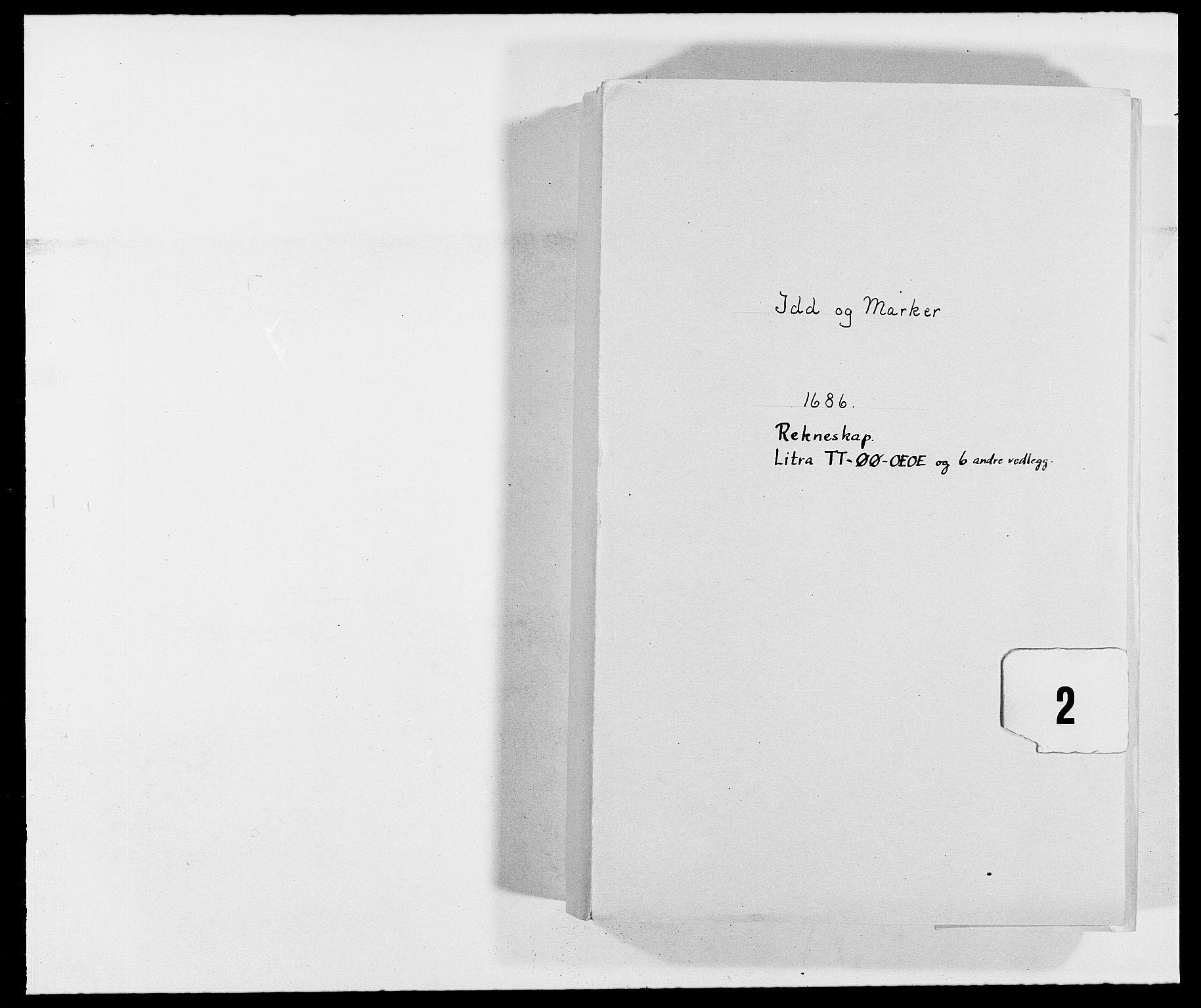 RA, Rentekammeret inntil 1814, Reviderte regnskaper, Fogderegnskap, R01/L0006: Fogderegnskap Idd og Marker, 1685-1686, s. 207