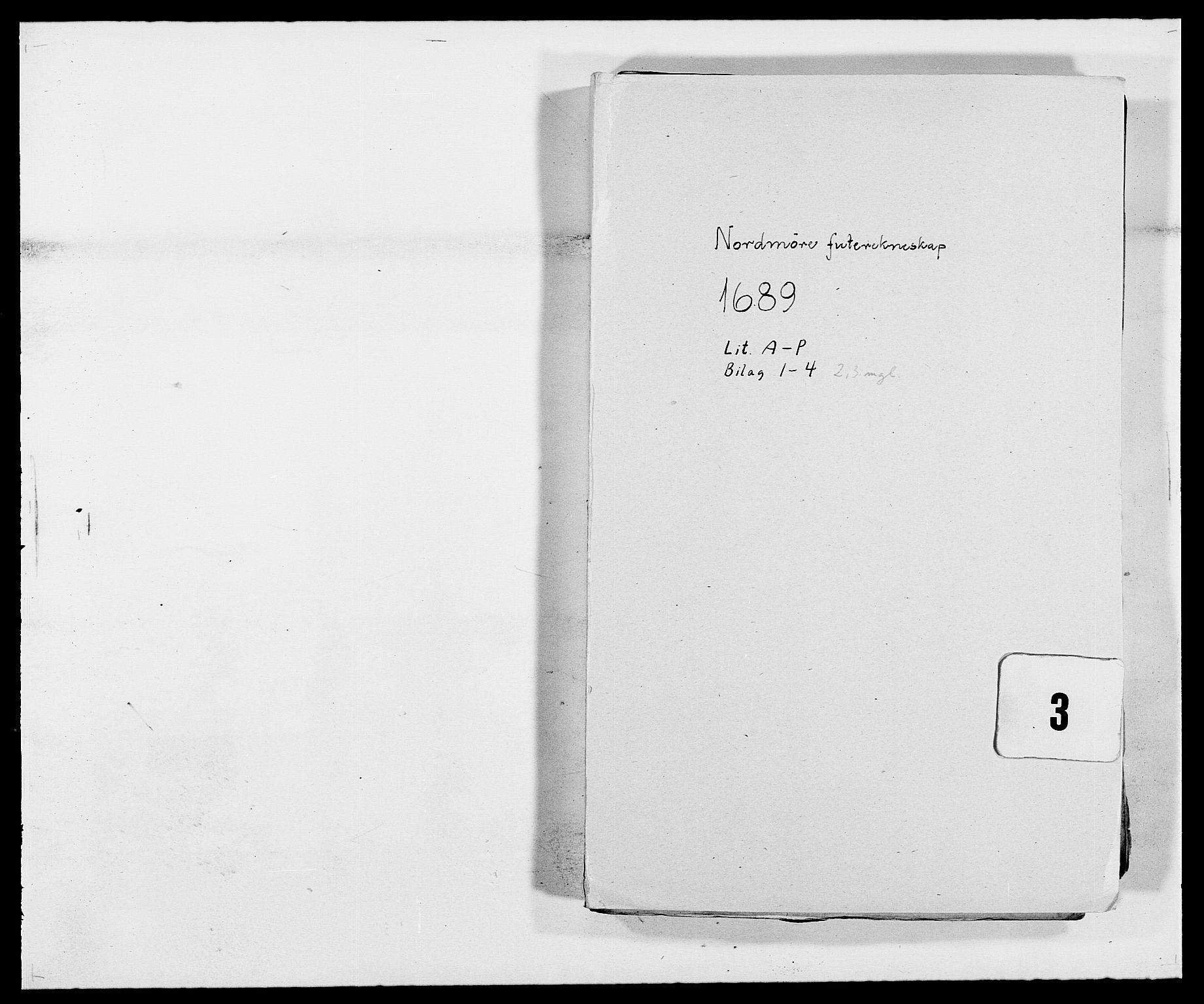 RA, Rentekammeret inntil 1814, Reviderte regnskaper, Fogderegnskap, R56/L3733: Fogderegnskap Nordmøre, 1687-1689, s. 340