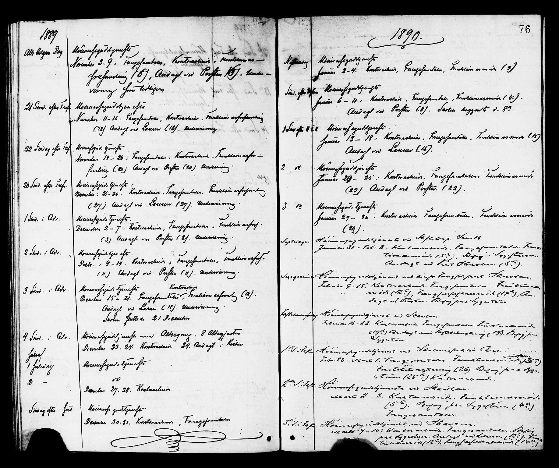 SAT, Ministerialprotokoller, klokkerbøker og fødselsregistre - Sør-Trøndelag, 624/L0482: Ministerialbok nr. 624A03, 1870-1918, s. 76